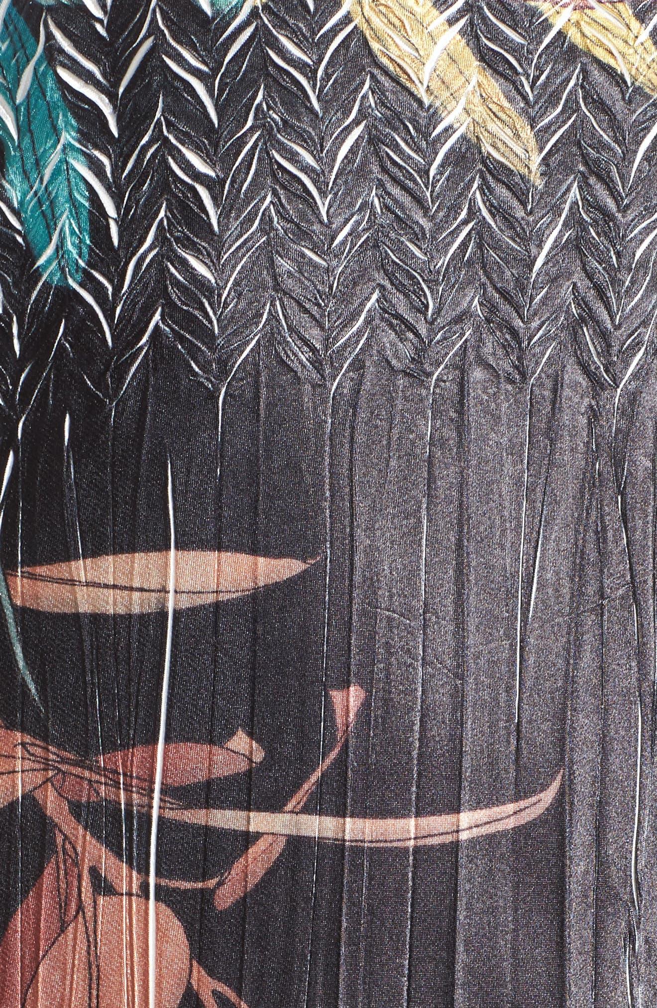 Print Sash Maxi Dress,                             Alternate thumbnail 6, color,                             039