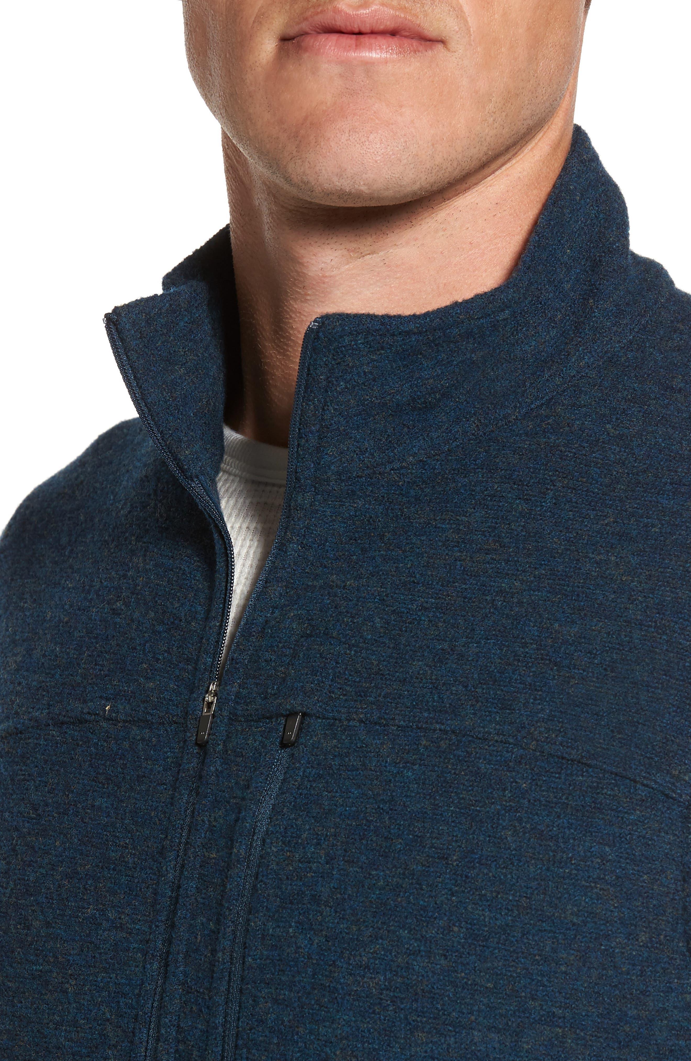 Scout Jura Merino Wool Blend Quarter Zip Pullover,                             Alternate thumbnail 19, color,