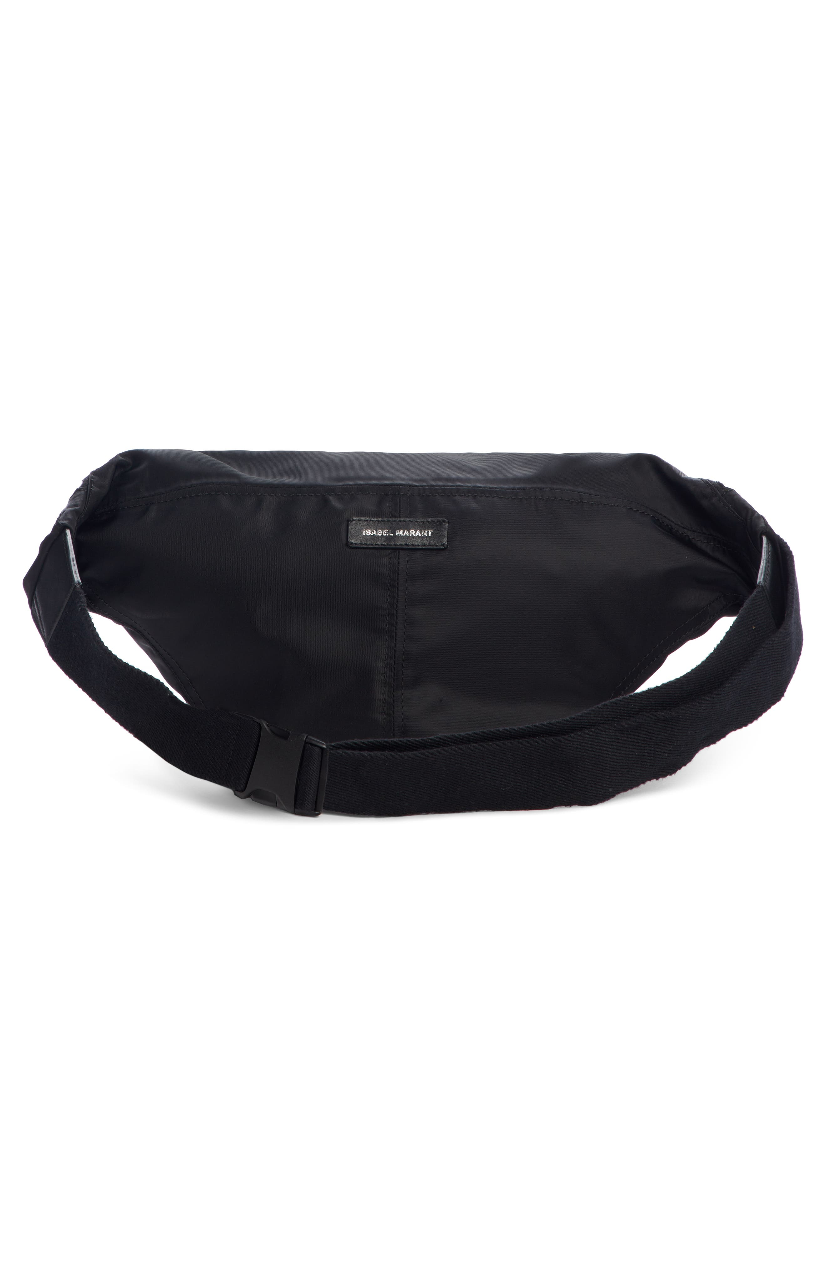 Noomi Fanny Pack,                             Alternate thumbnail 4, color,                             BLACK