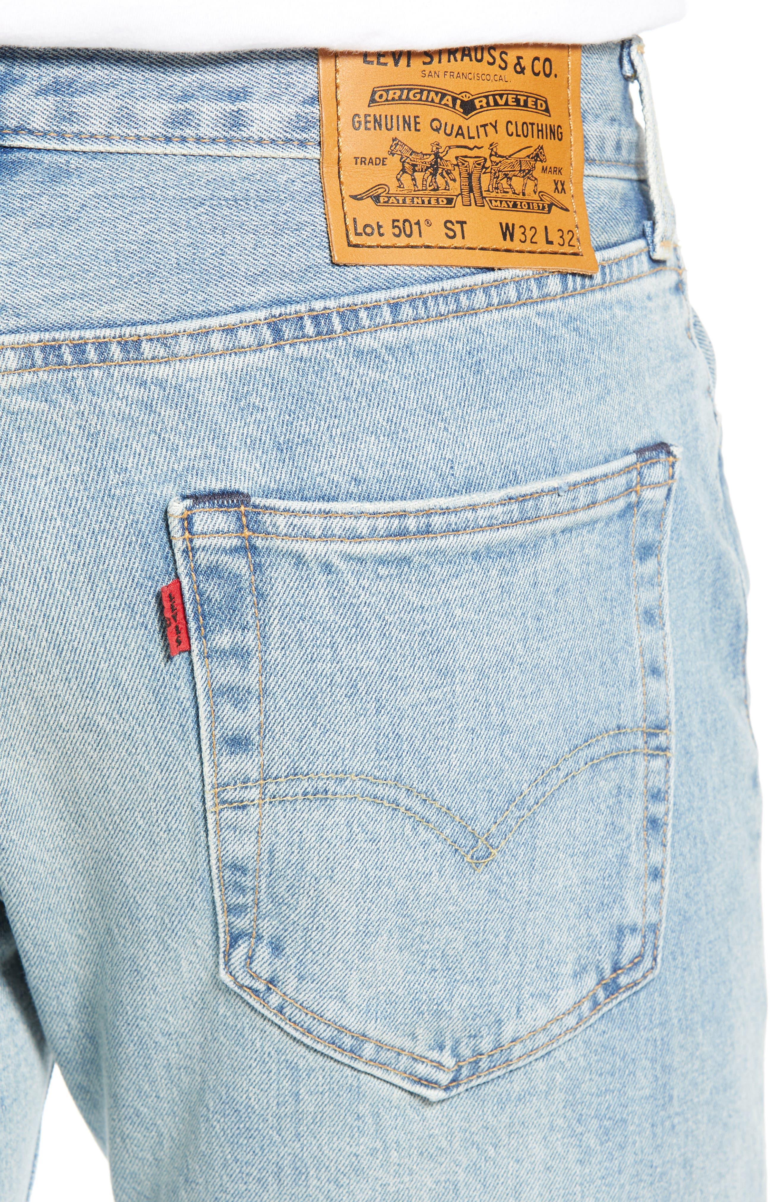 x Justin Timberlake 501<sup>®</sup> Slim Taper Jeans,                             Alternate thumbnail 5, color,                             HILLMAN