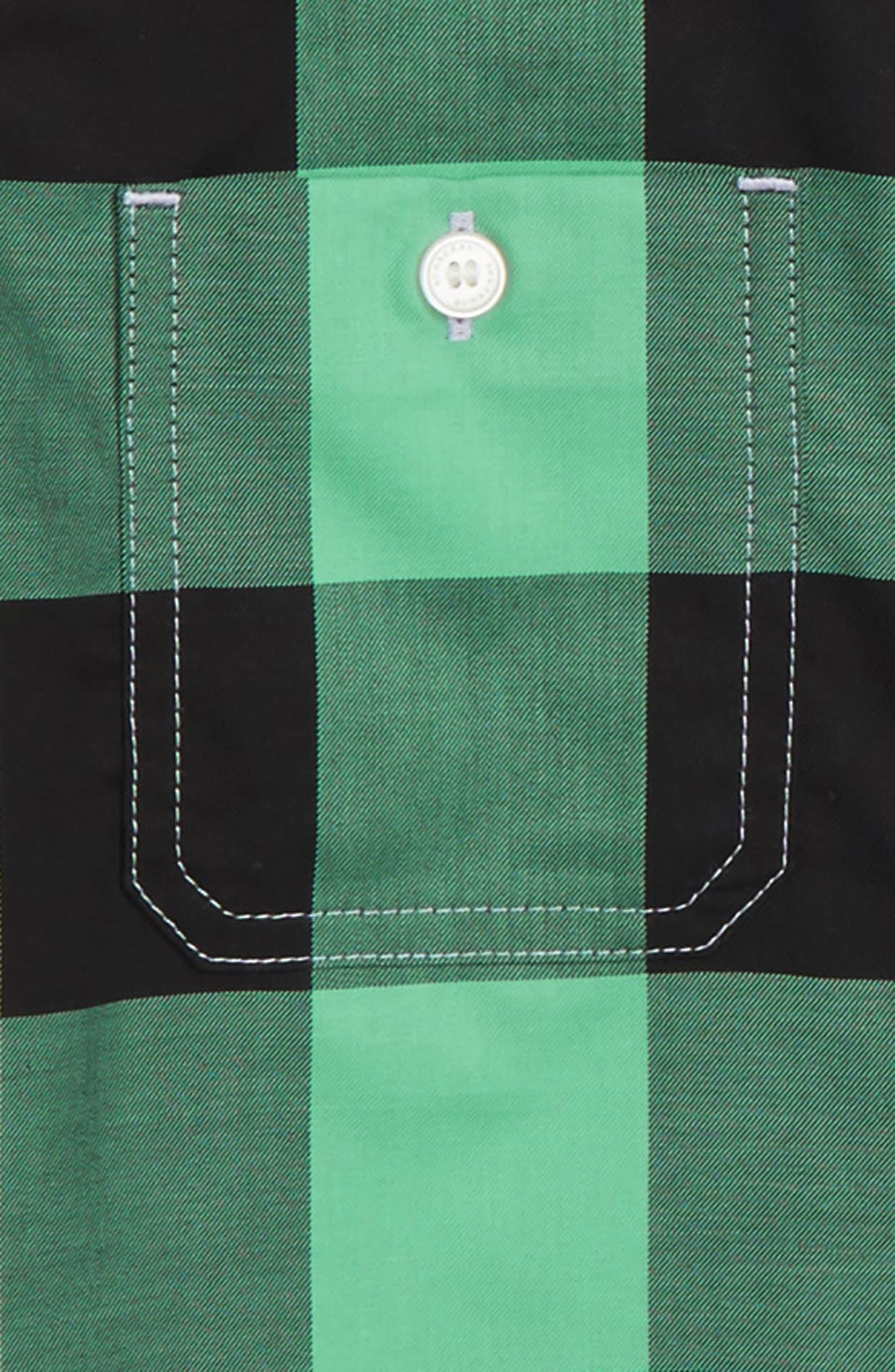 Mini Camber Check Shirt,                             Alternate thumbnail 3, color,