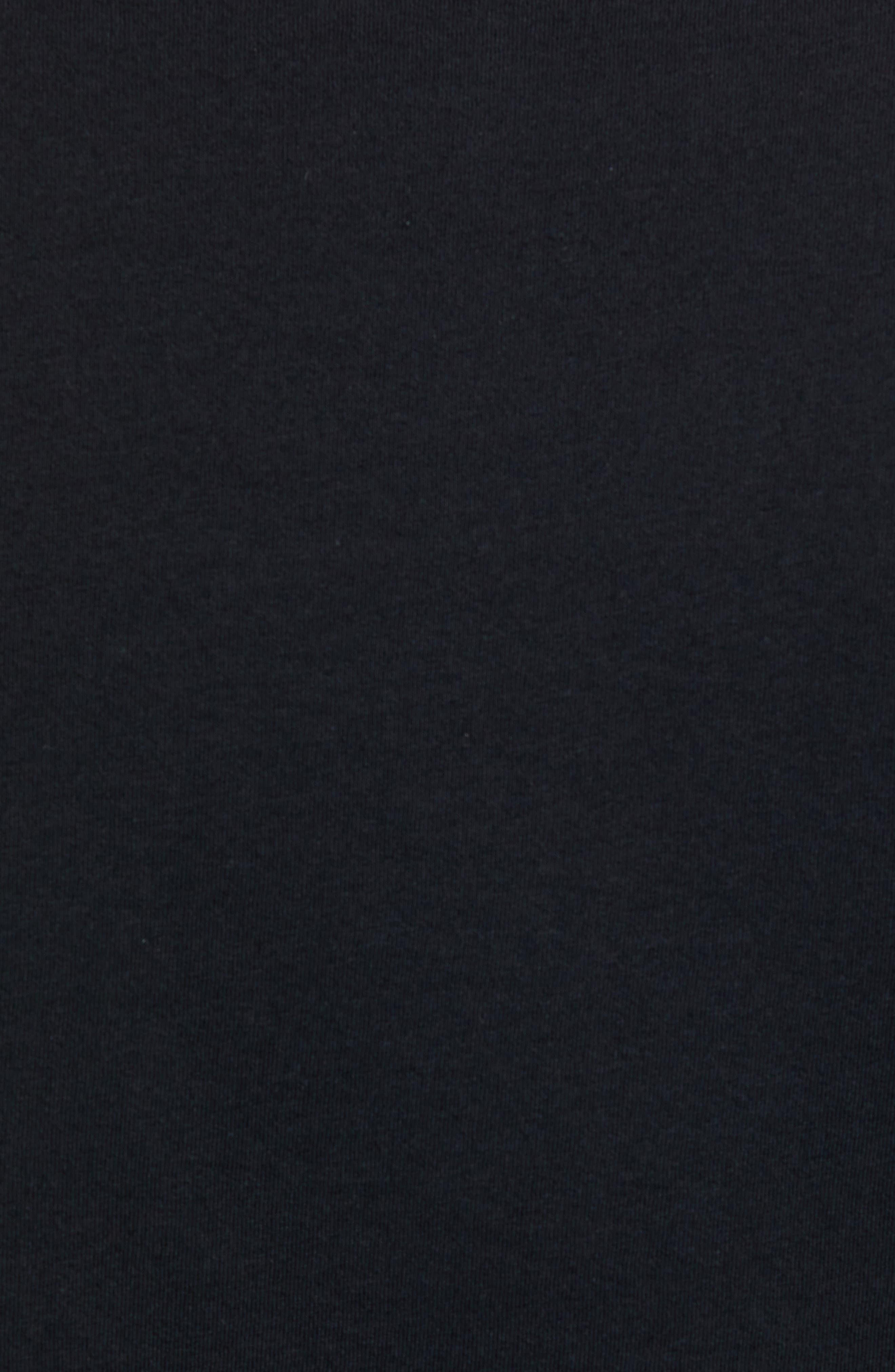 Flying Fish Organic Cotton T-Shirt,                             Alternate thumbnail 5, color,                             BLACK/ ALBANIAN LANDSCAPE