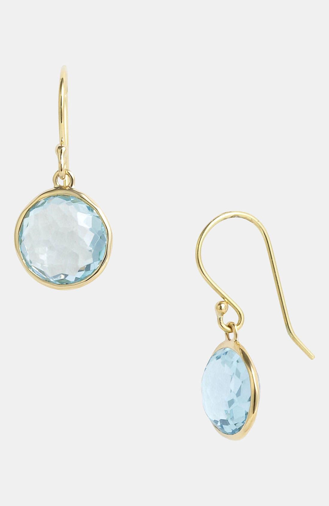 'Rock Candy - Mini Lollipop' 18k Gold Drop Earrings, Main, color, 710