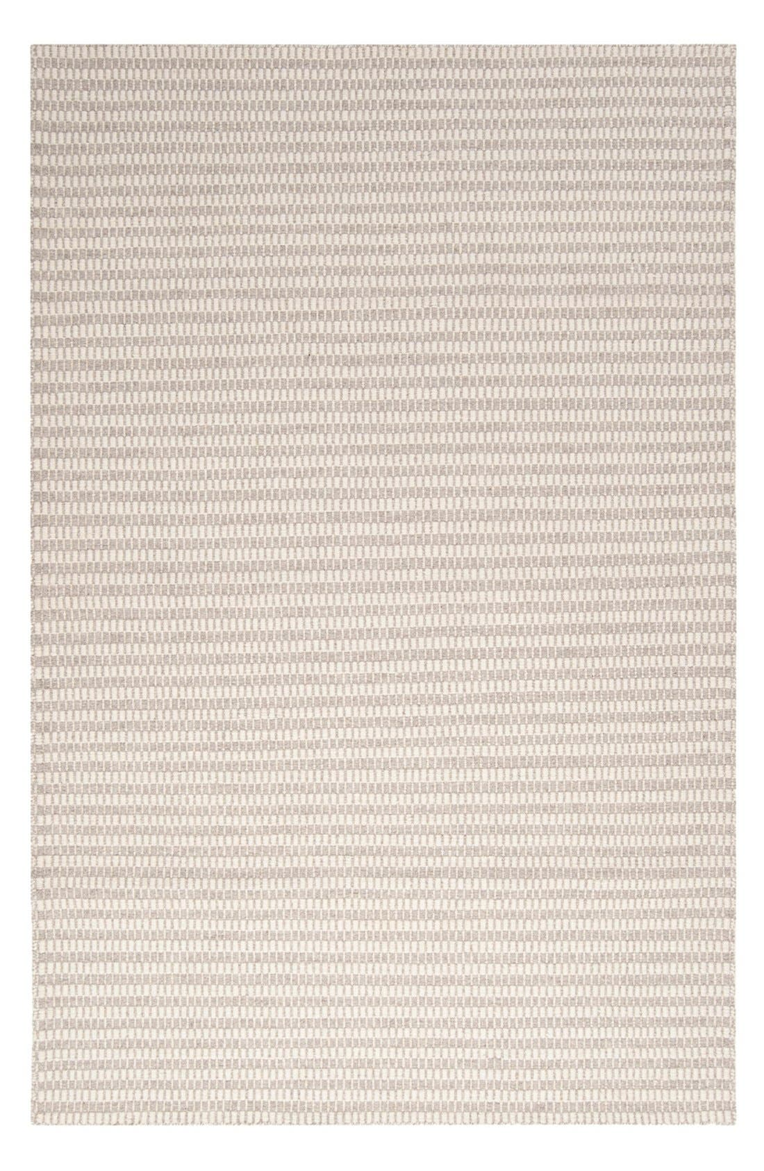 'Ravena' Wool Rug,                         Main,                         color, GREY/ IVORY