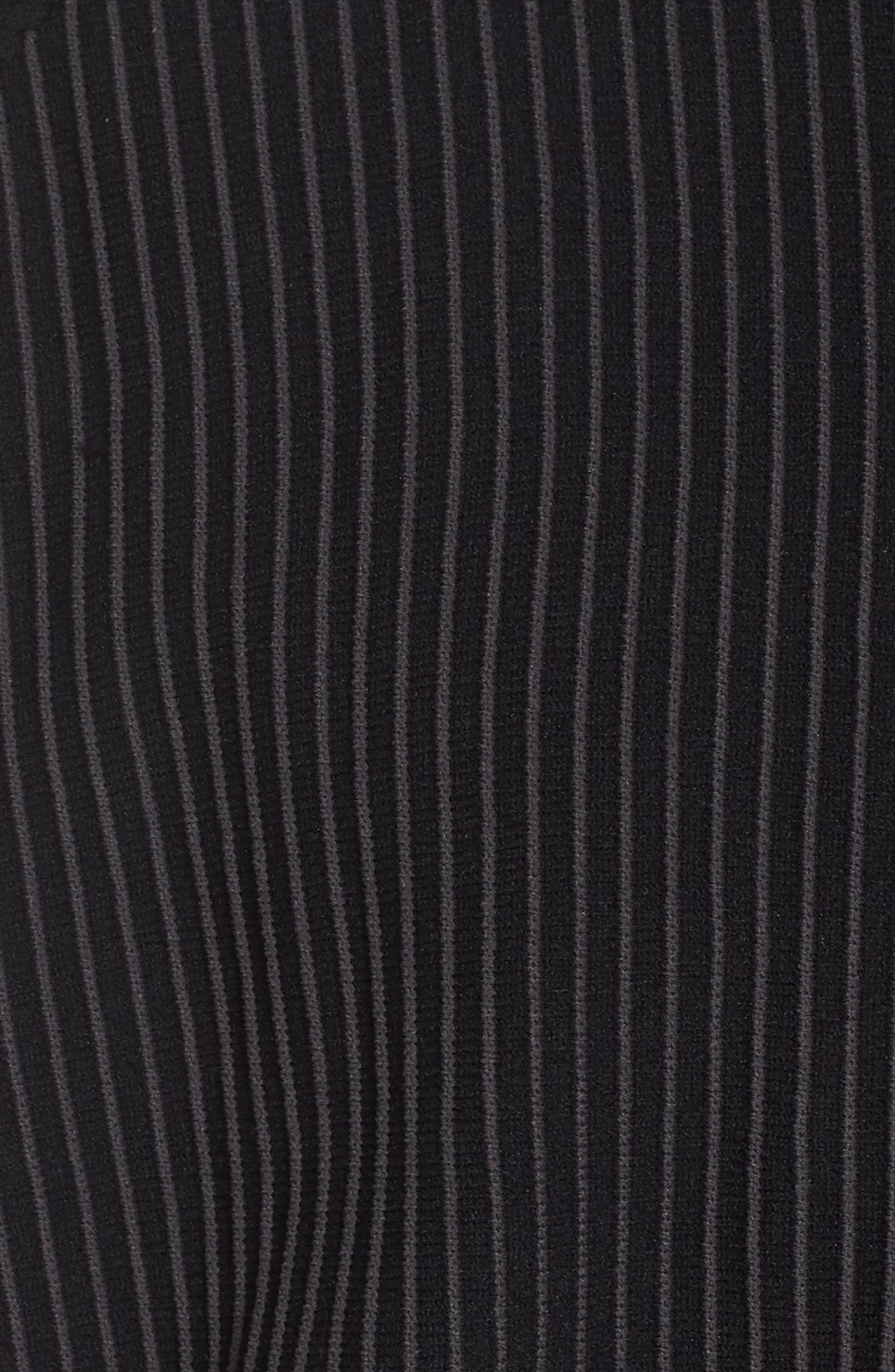 Adibreak Track Jacket,                             Alternate thumbnail 6, color,                             BLACK