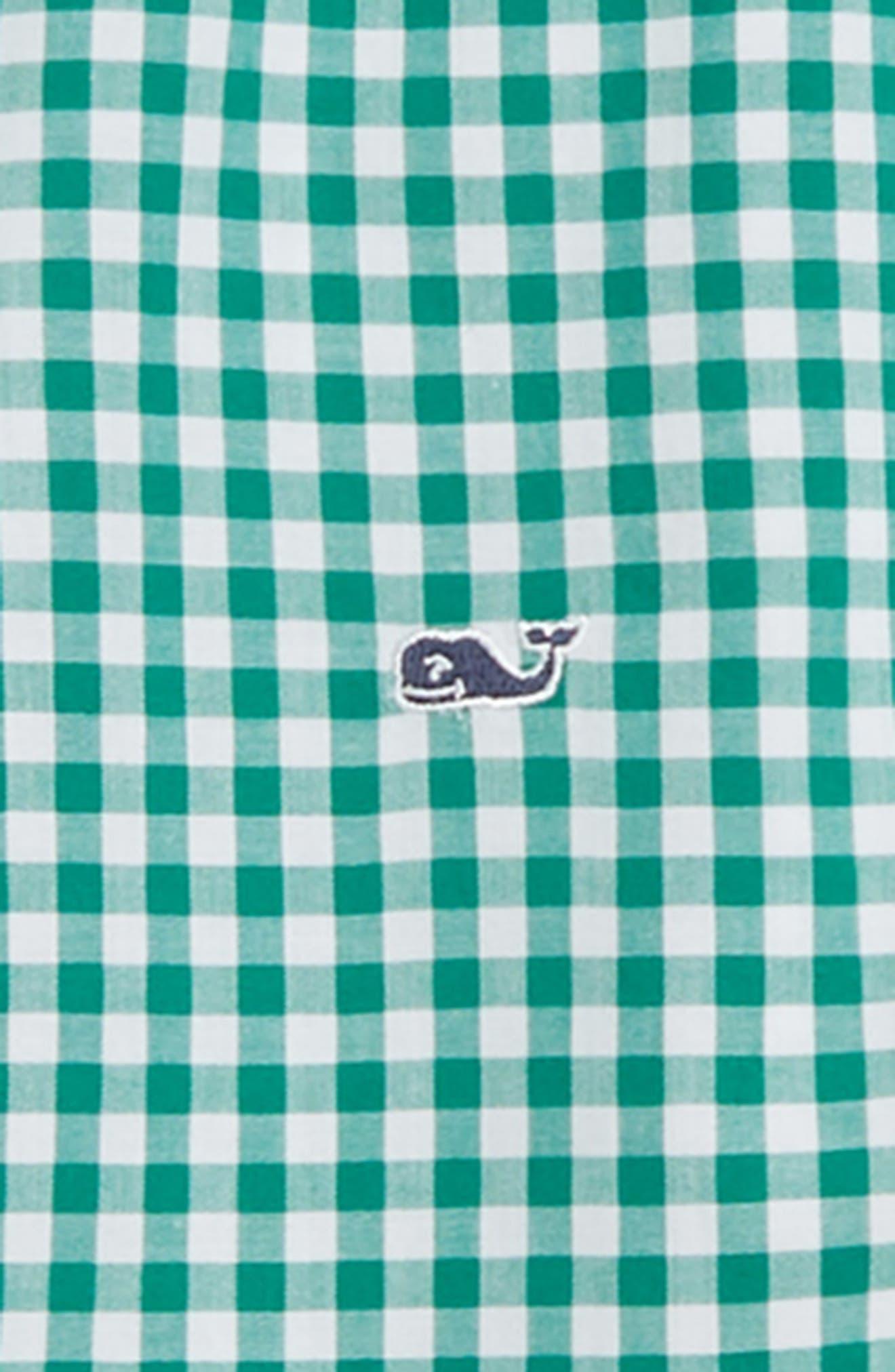 Rockridge Poplin Whale Shirt,                             Alternate thumbnail 2, color,                             GREEN MEADOW