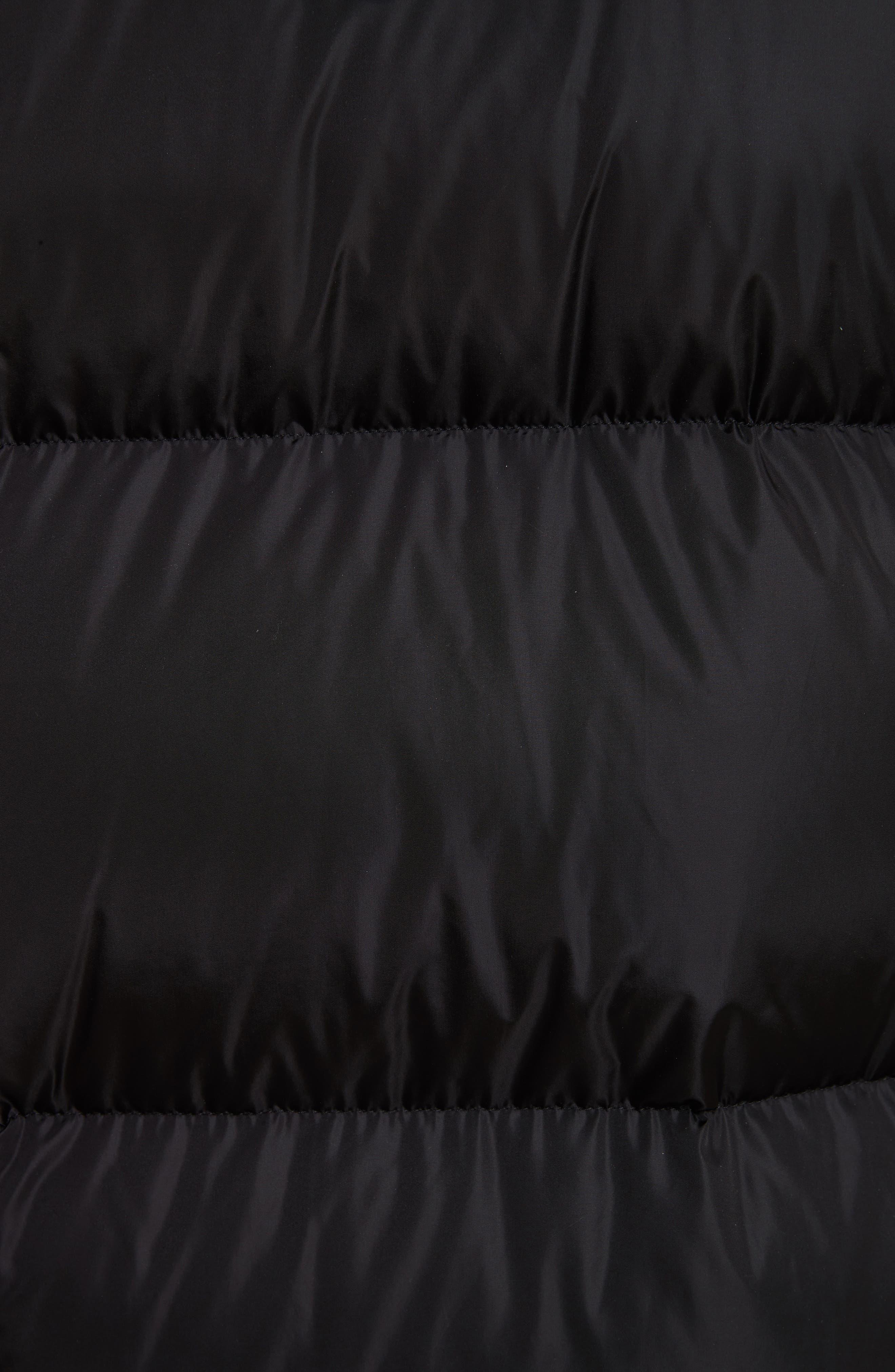 Aurelien Down Parka with Genuine Fur Trim,                             Alternate thumbnail 6, color,                             001