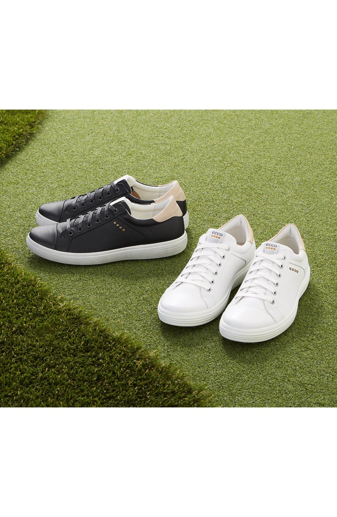 'Casual Hybrid' Golf Shoe,                             Alternate thumbnail 5, color,                             100