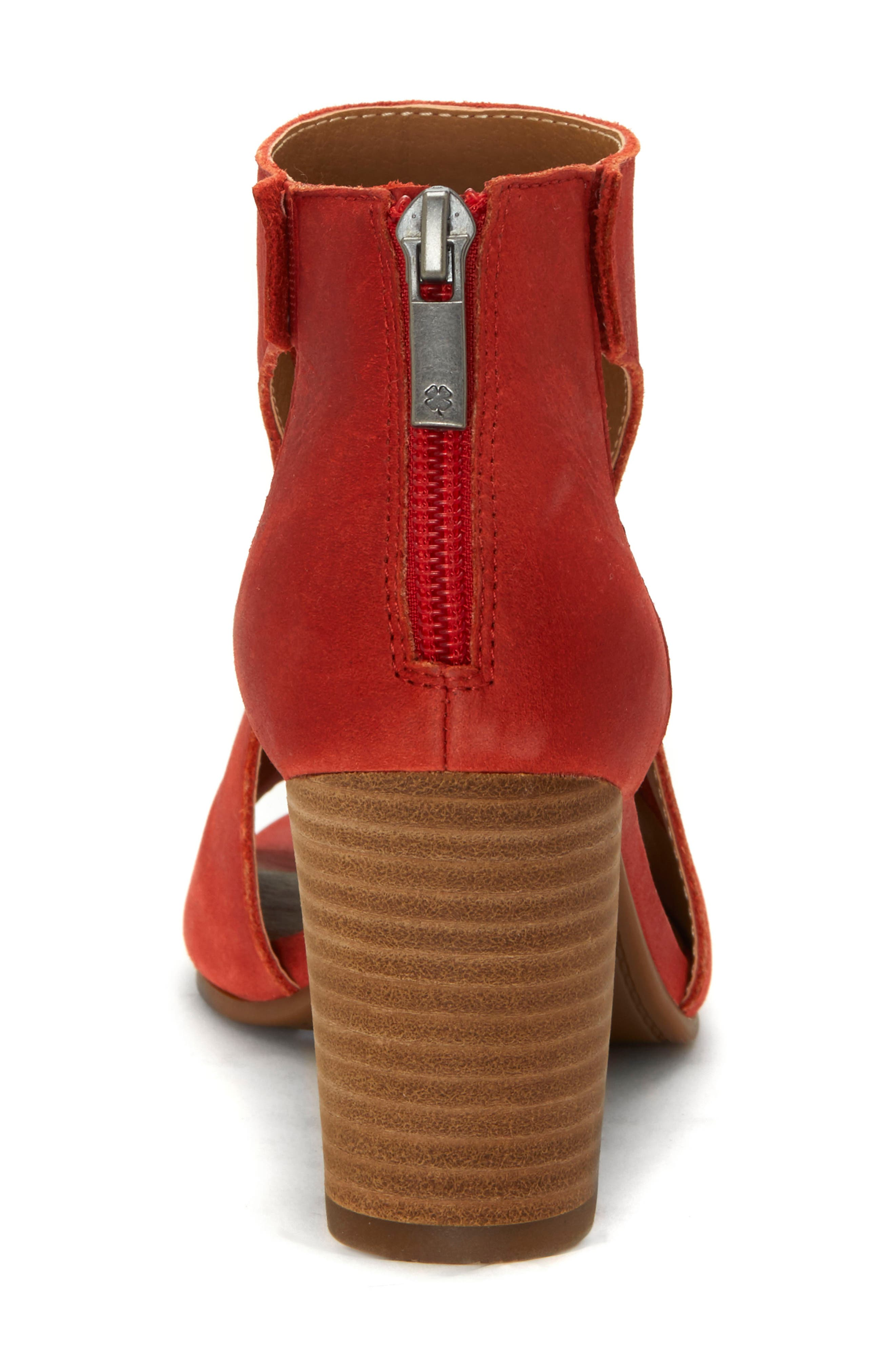 Udine Shield Sandal,                             Alternate thumbnail 7, color,                             TANDORI LEATHER