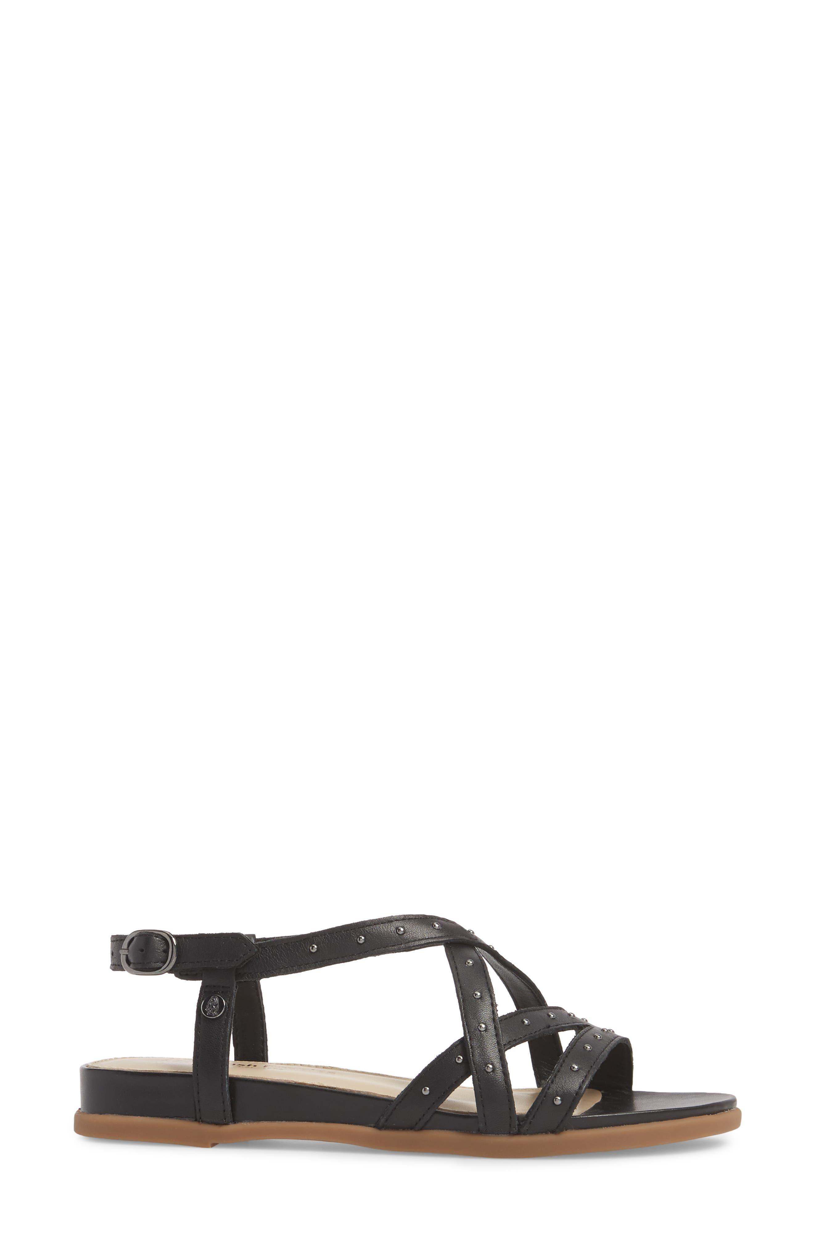 Dalmatian Studded Sandal,                             Alternate thumbnail 9, color,