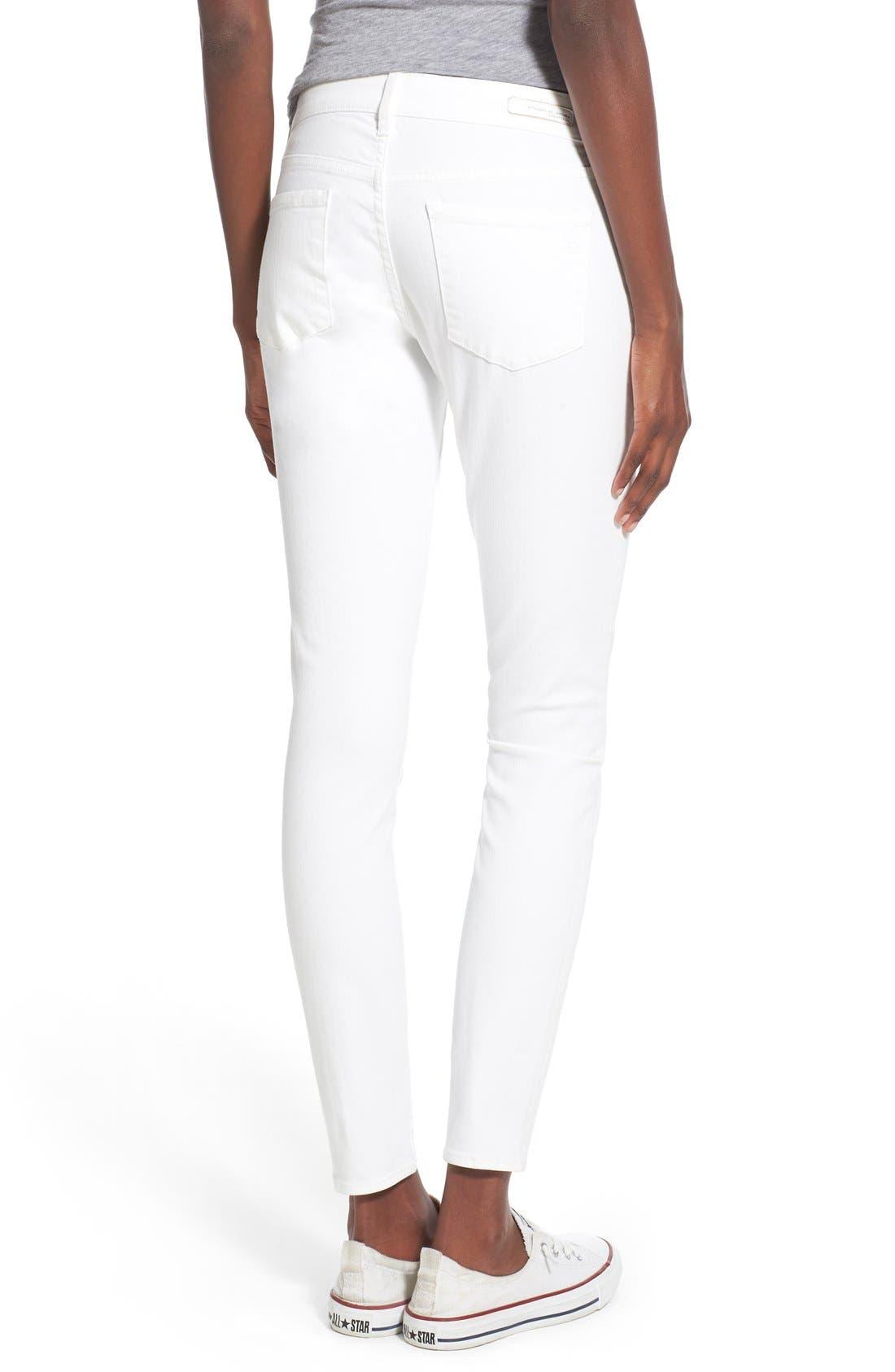 'Sarah' Skinny Jeans,                             Alternate thumbnail 2, color,                             100