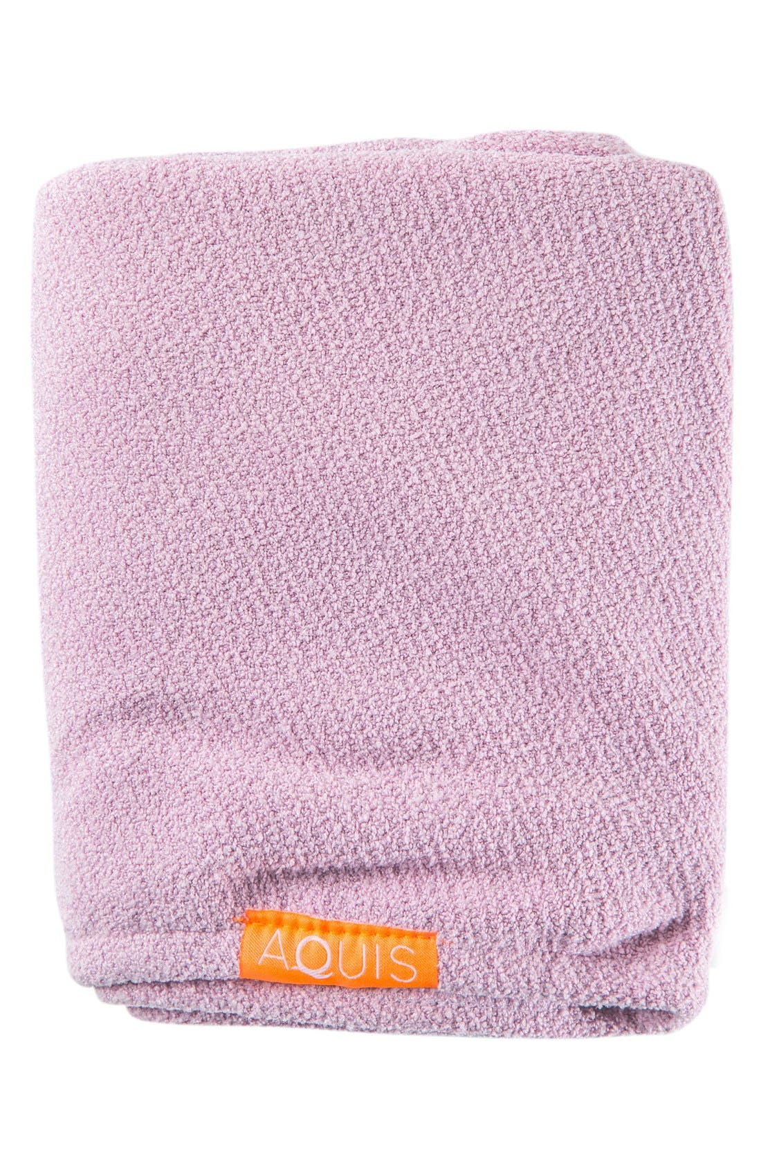 Lisse Luxe Desert Rose Hair Turban,                             Alternate thumbnail 7, color,                             DESERT ROSE