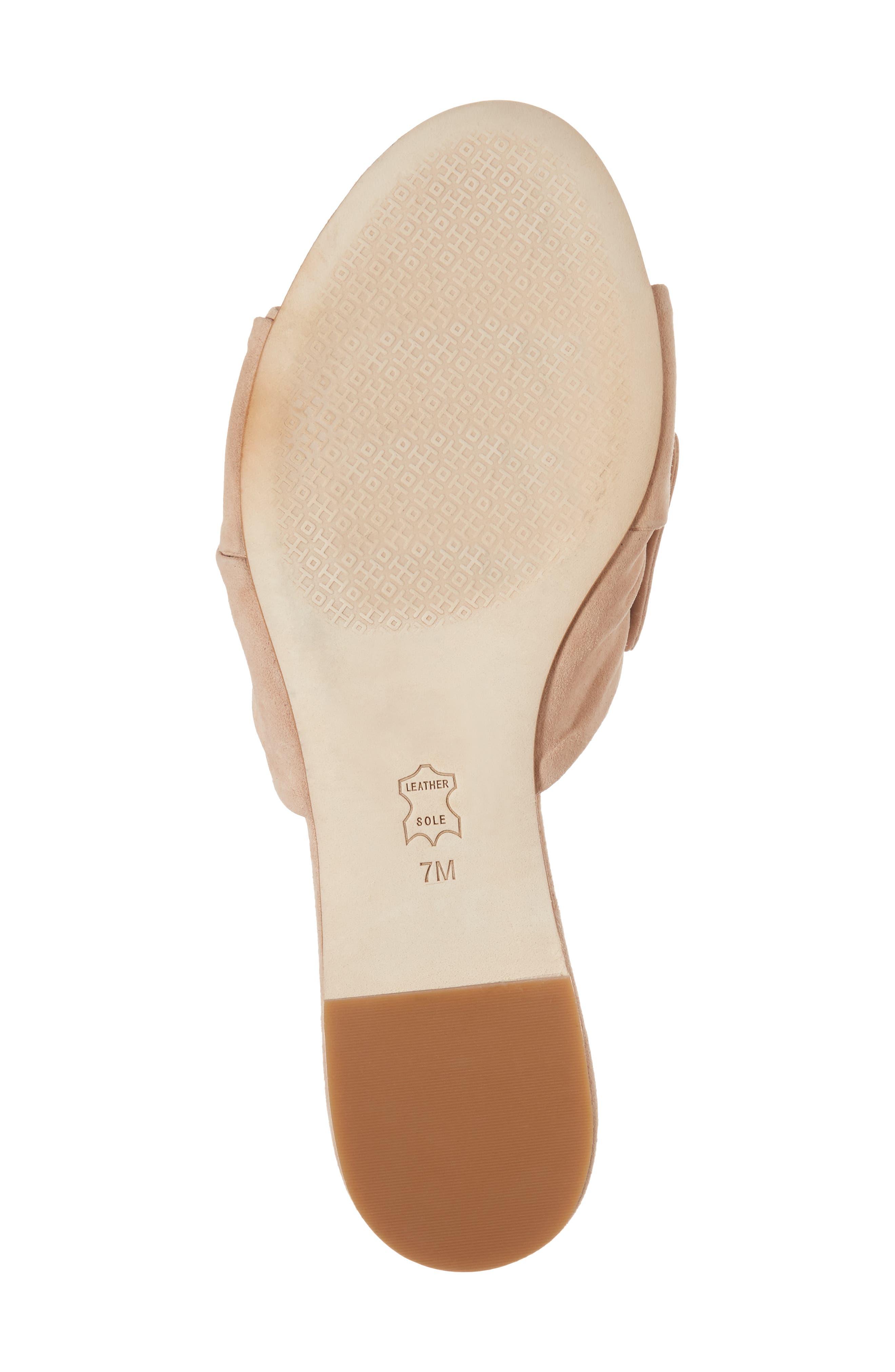 Annabelle Bow Slide Sandal,                             Alternate thumbnail 18, color,