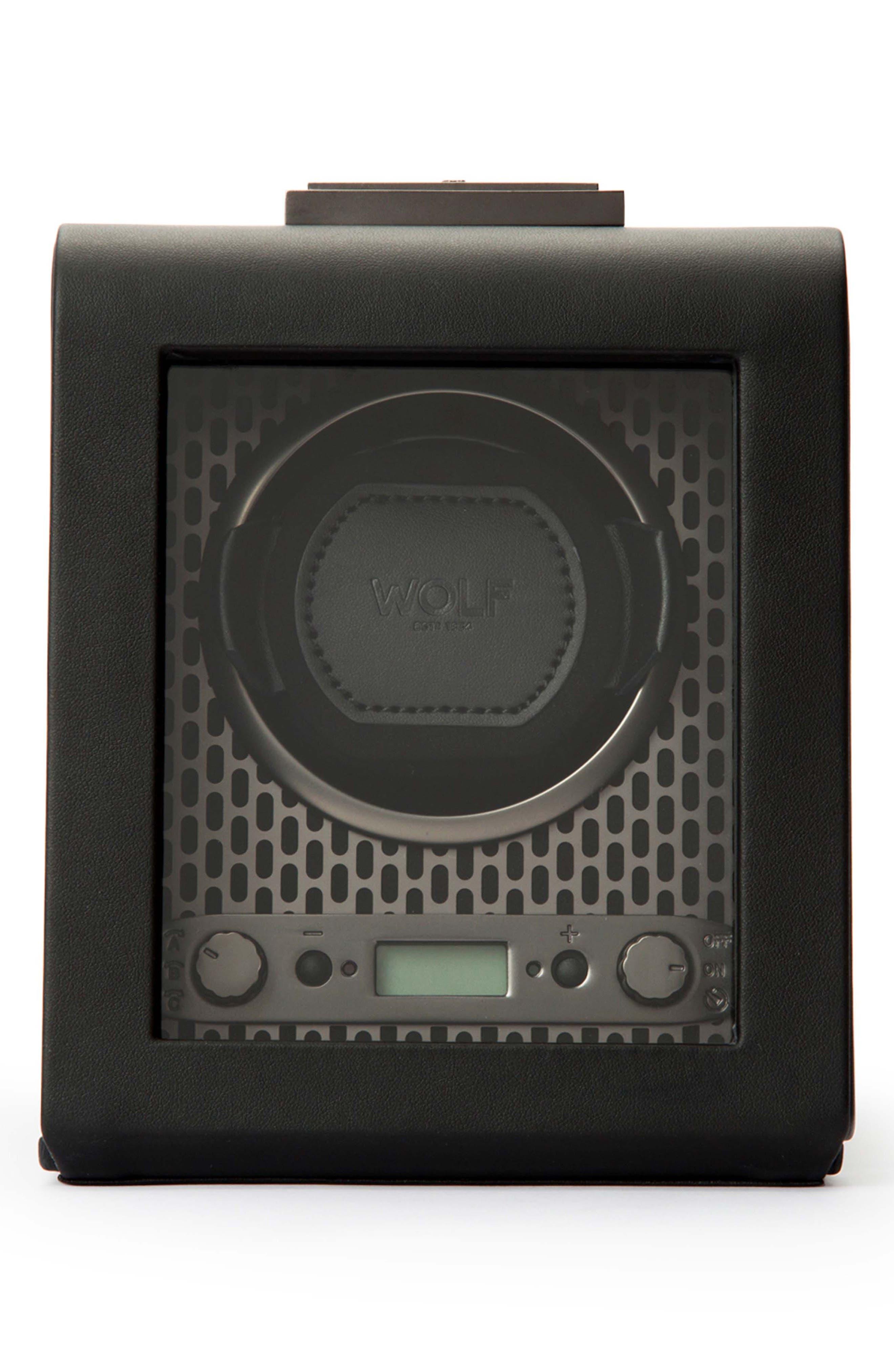 Axis Single Watch Winder,                             Main thumbnail 1, color,                             POWDER COAT
