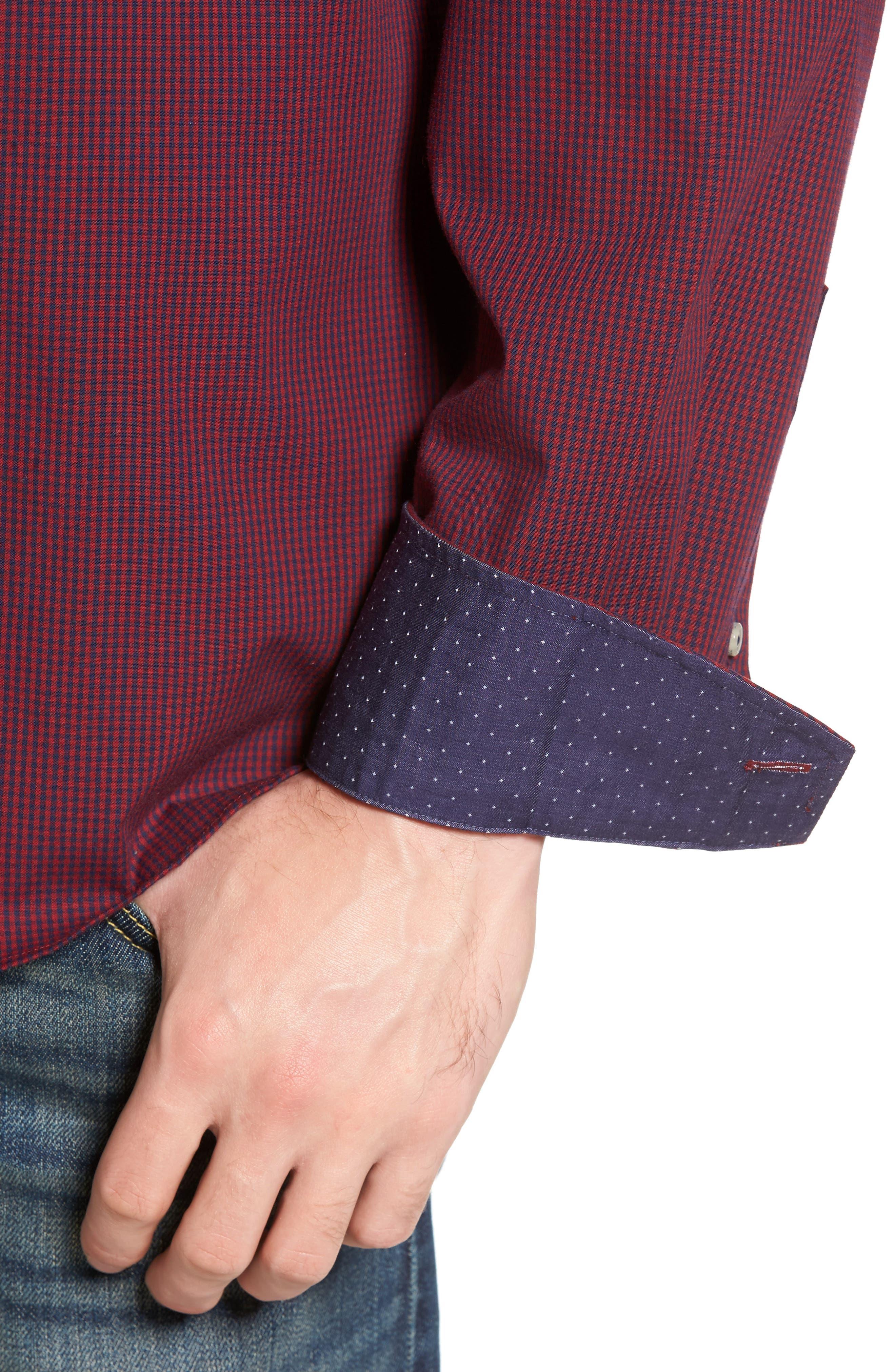 Oracle Woven Shirt,                             Alternate thumbnail 4, color,                             600