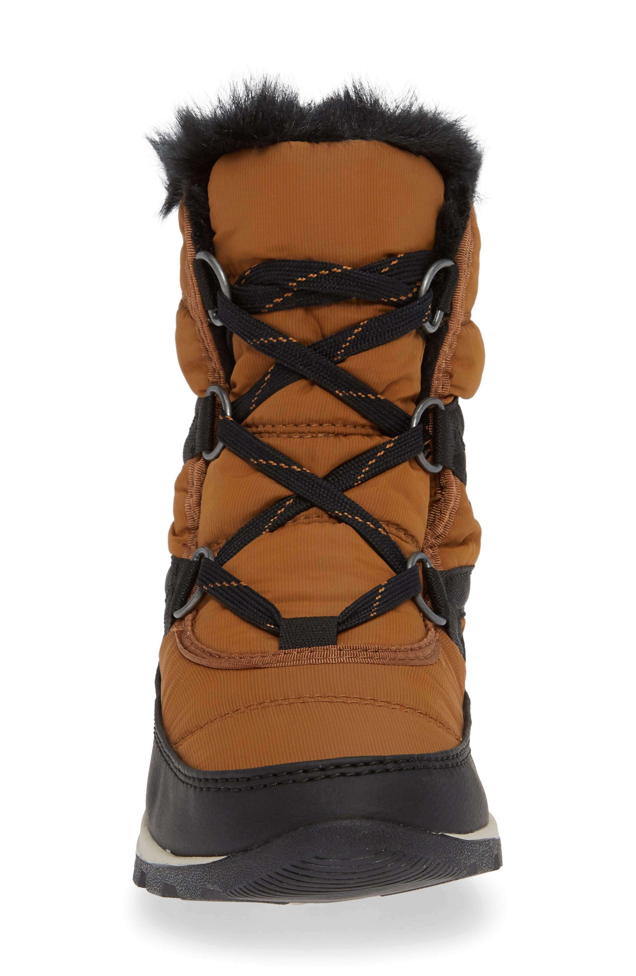Whitney Snow Bootie,                             Alternate thumbnail 4, color,                             CAMEL BROWN