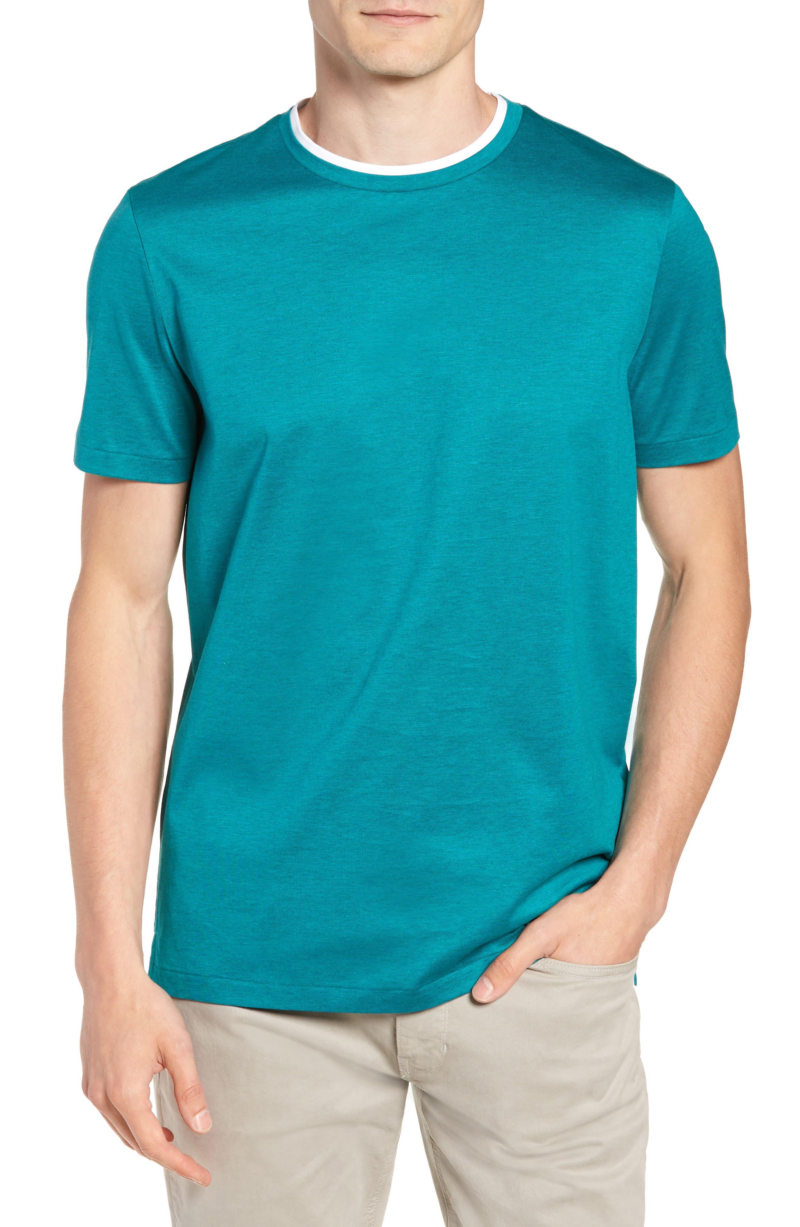 Taber Regular Fit T-Shirt,                         Main,                         color, GREEN