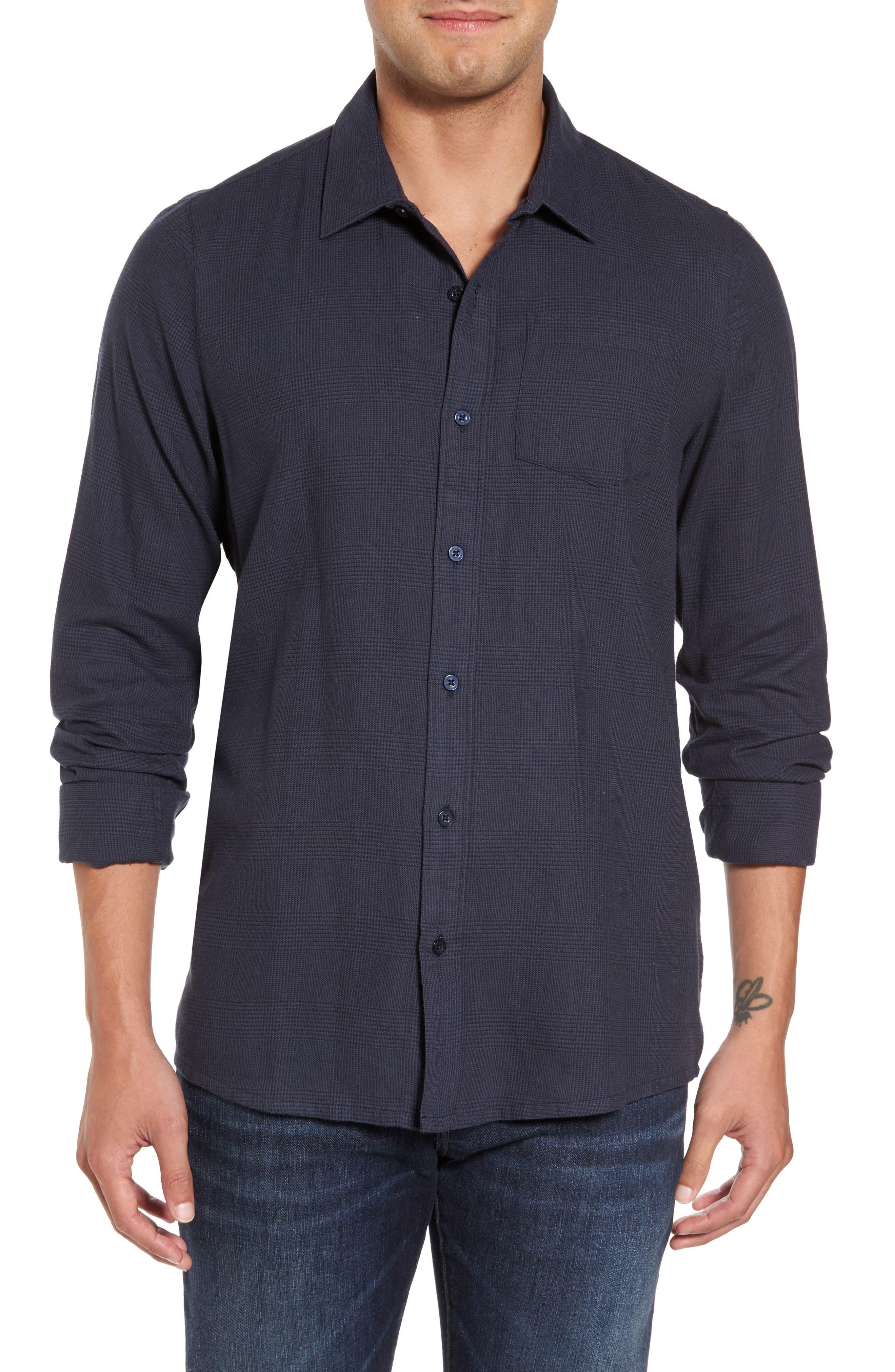 Overly Glen Plaid Sport Shirt,                         Main,                         color, 400
