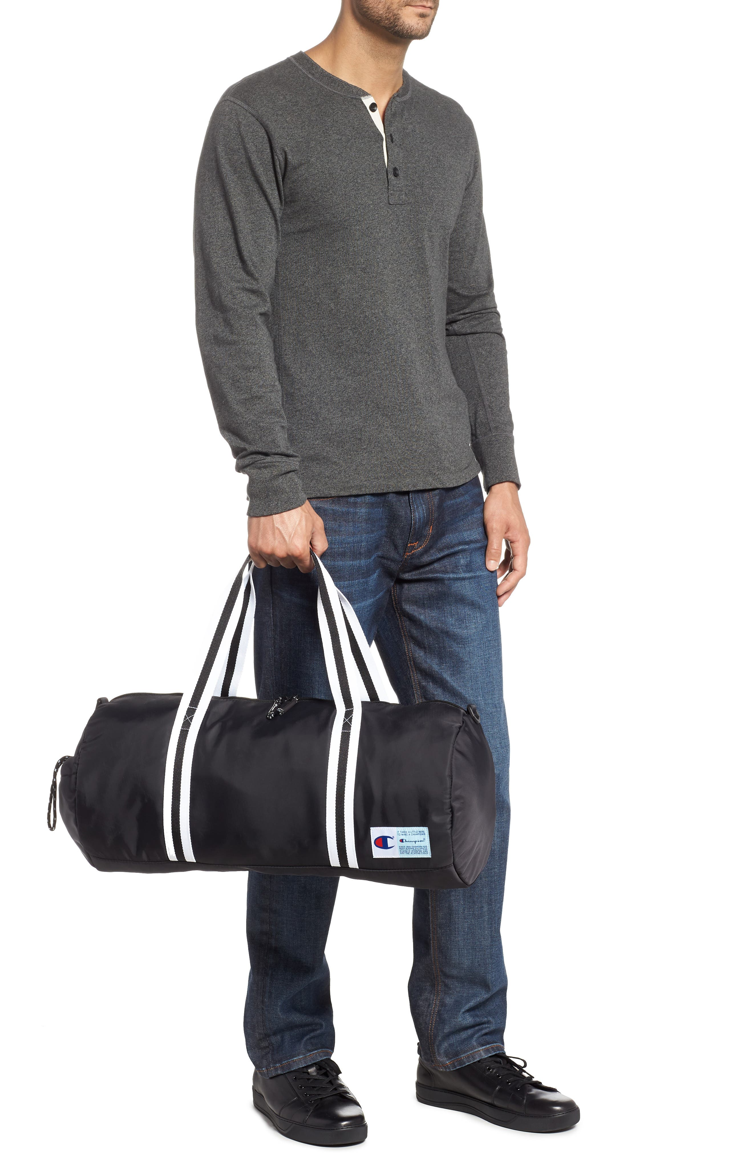 Free Form Duffel Bag,                             Alternate thumbnail 2, color,                             BLACK