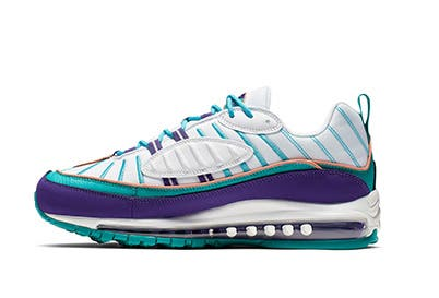 100% authentic 81852 6ab83 Nike Air Max 98 NBA All-Star Charlotte