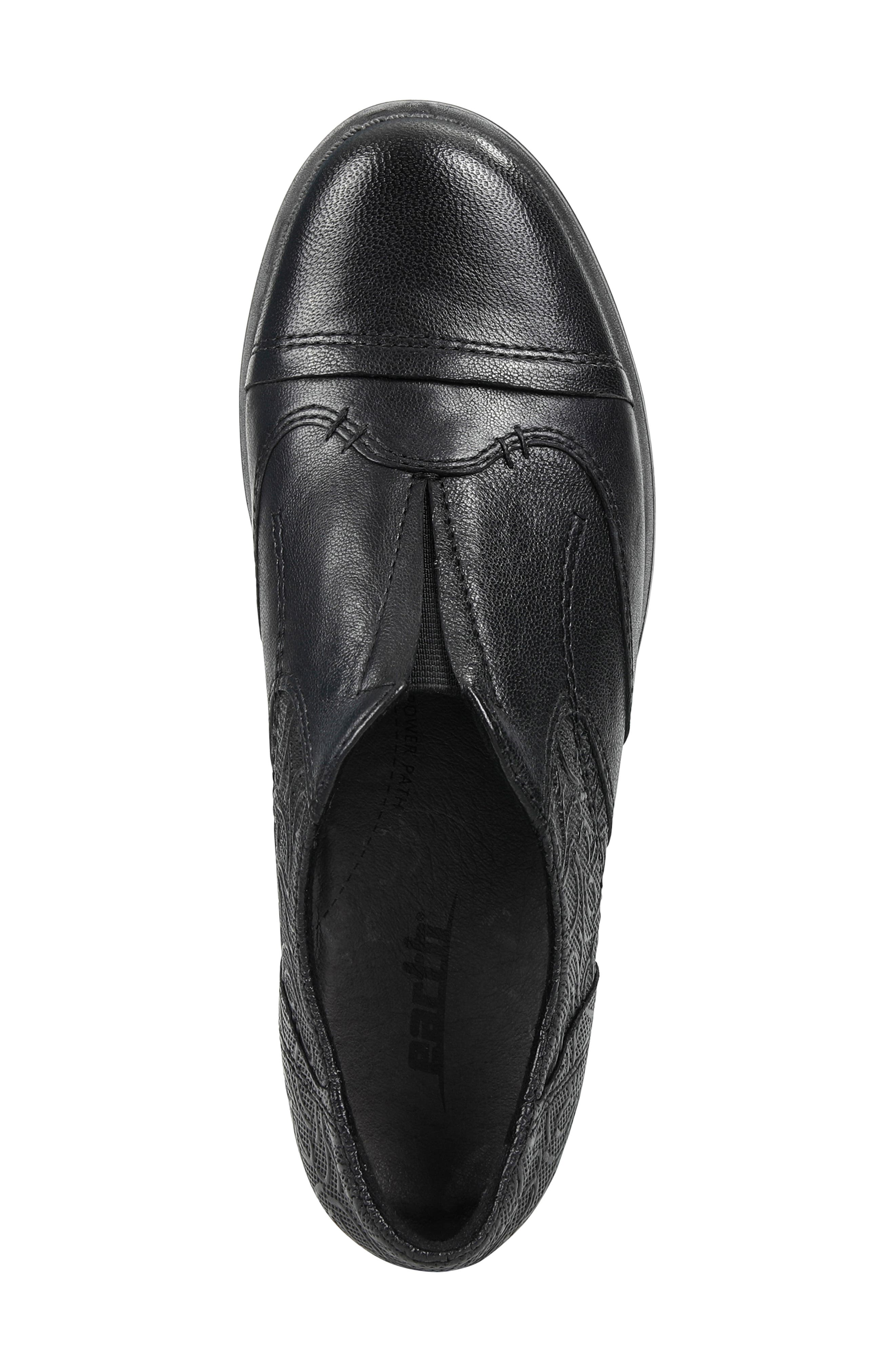 EARTH<SUP>®</SUP>,                             Blythe Loafer,                             Alternate thumbnail 5, color,                             BLACK LEATHER