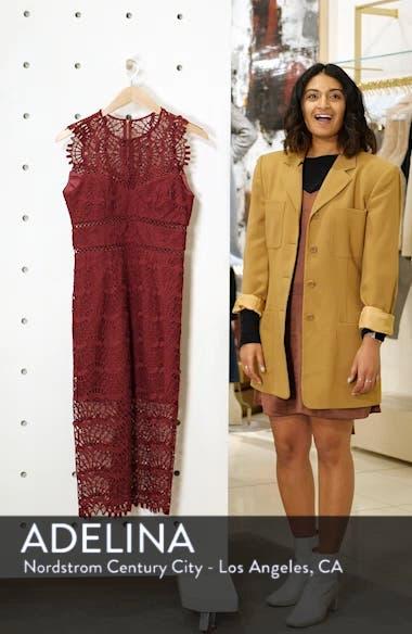 Mariano Lace Sheath Dress, sales video thumbnail