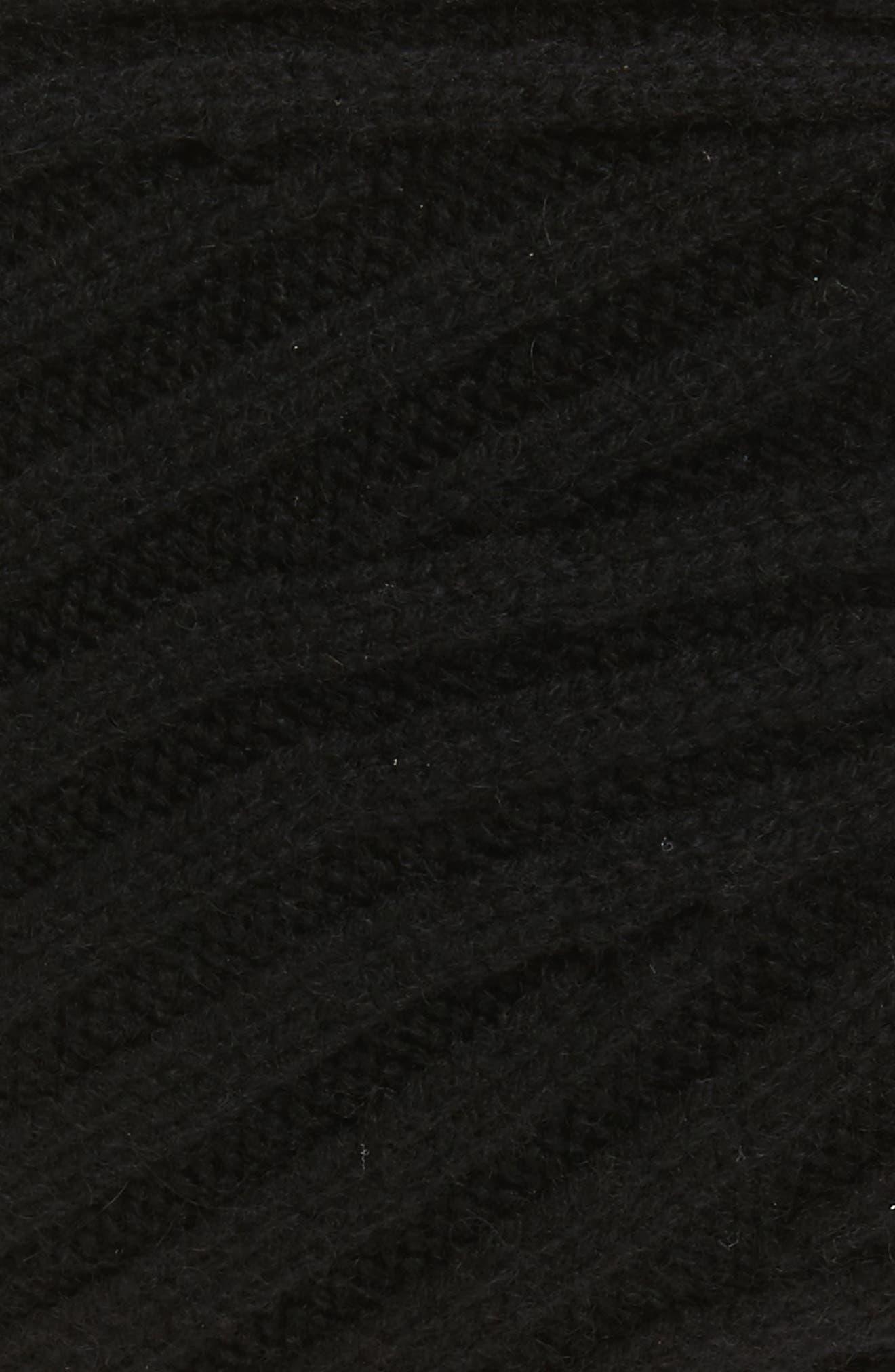 Classic Wool Blend Beanie,                             Alternate thumbnail 3, color,