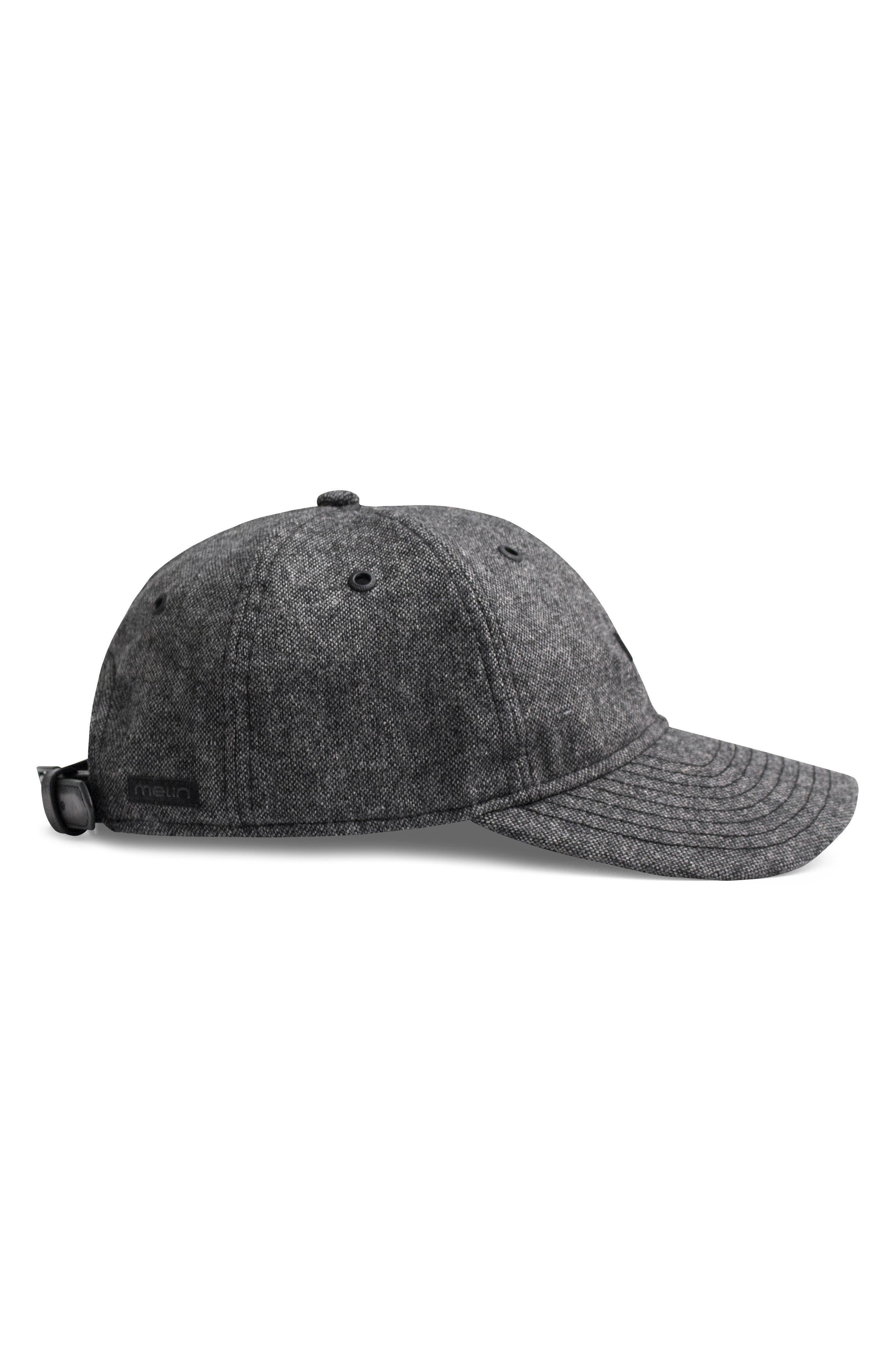 Skunked Baseball Cap,                             Alternate thumbnail 4, color,                             BLACK