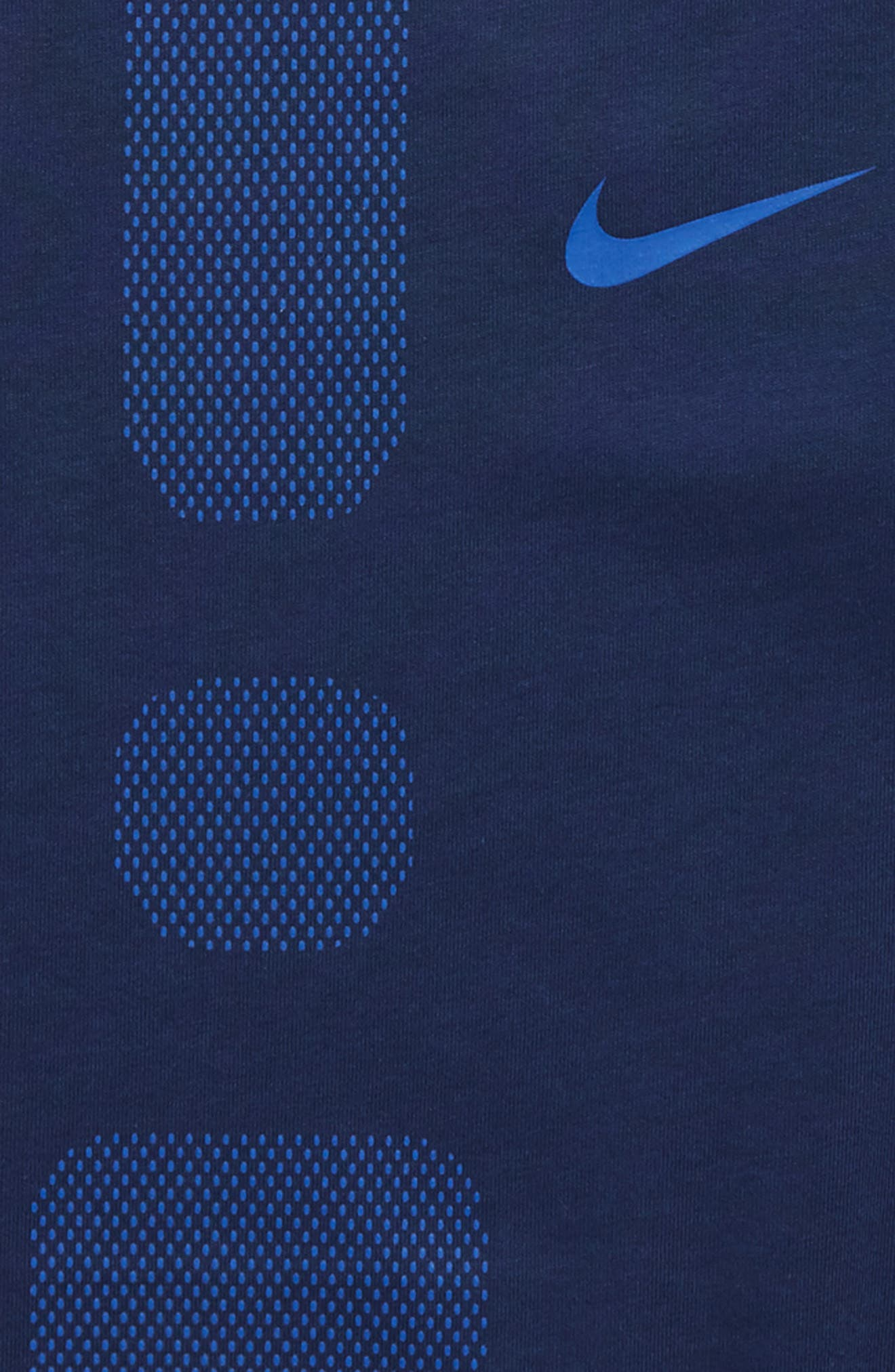 Dry Elite Athletic Fit T-Shirt,                             Alternate thumbnail 7, color,