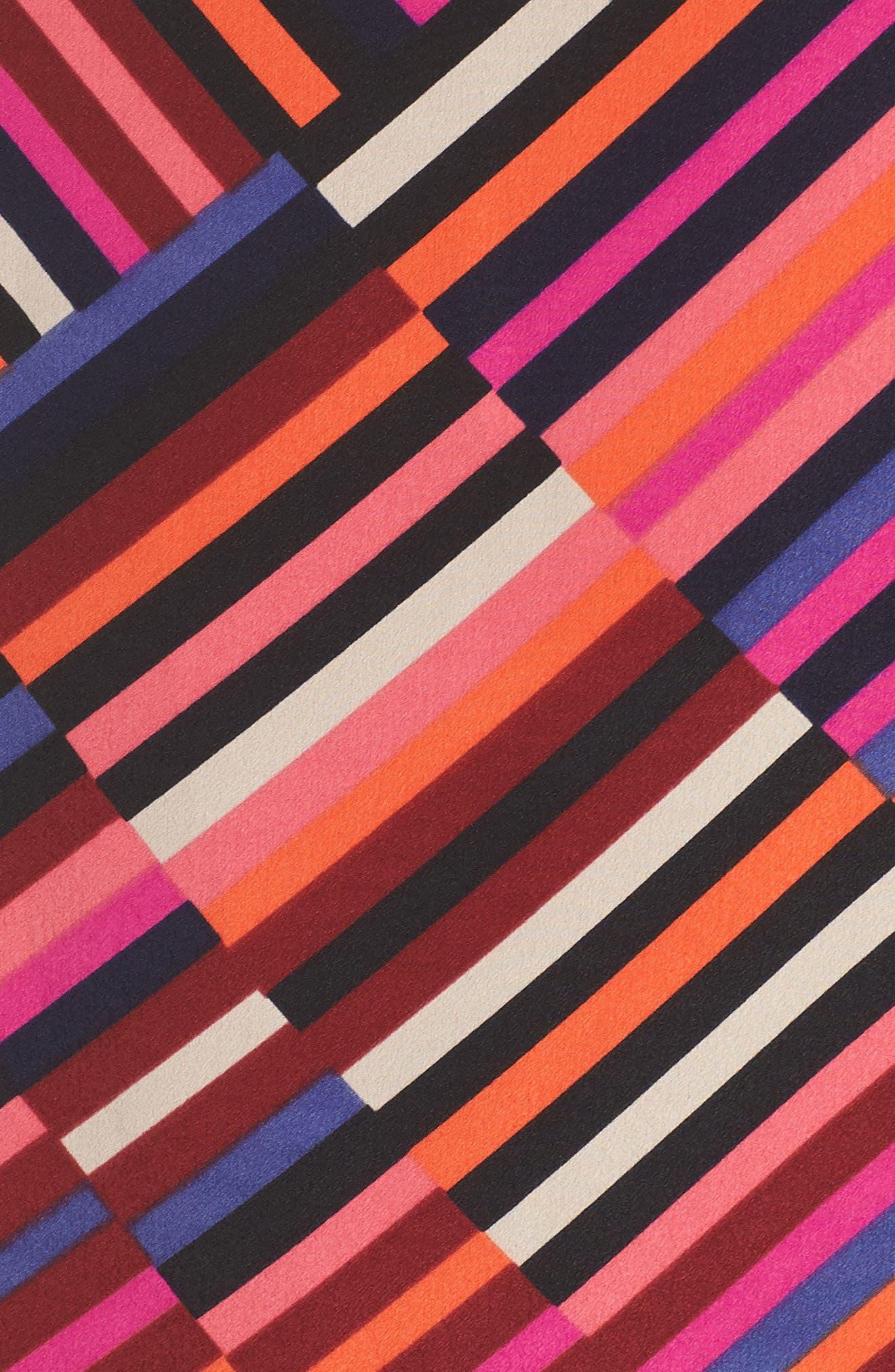 Jaxon Chiffon Dress,                             Alternate thumbnail 5, color,                             MULTI