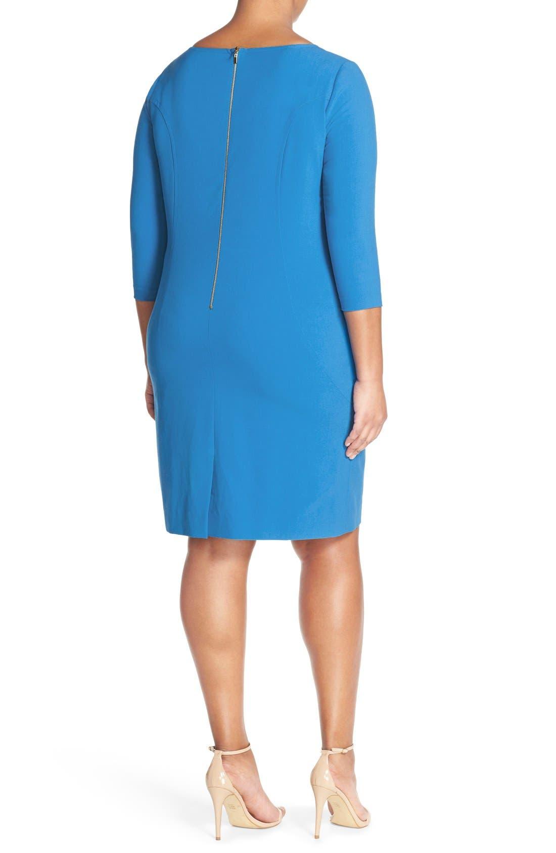 by Arthur S. Levine Seamed A-Line Dress,                             Alternate thumbnail 26, color,