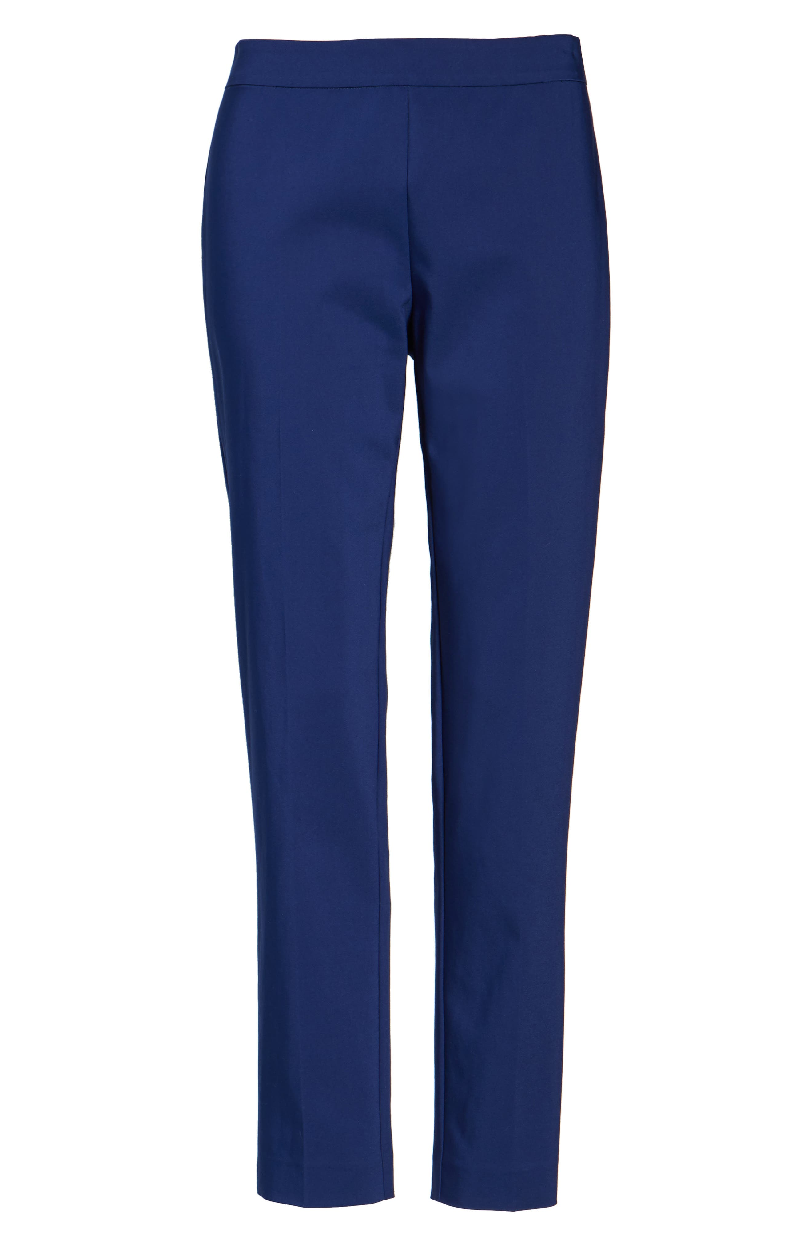Jackie Pull-On Ankle Pants,                             Alternate thumbnail 6, color,                             485
