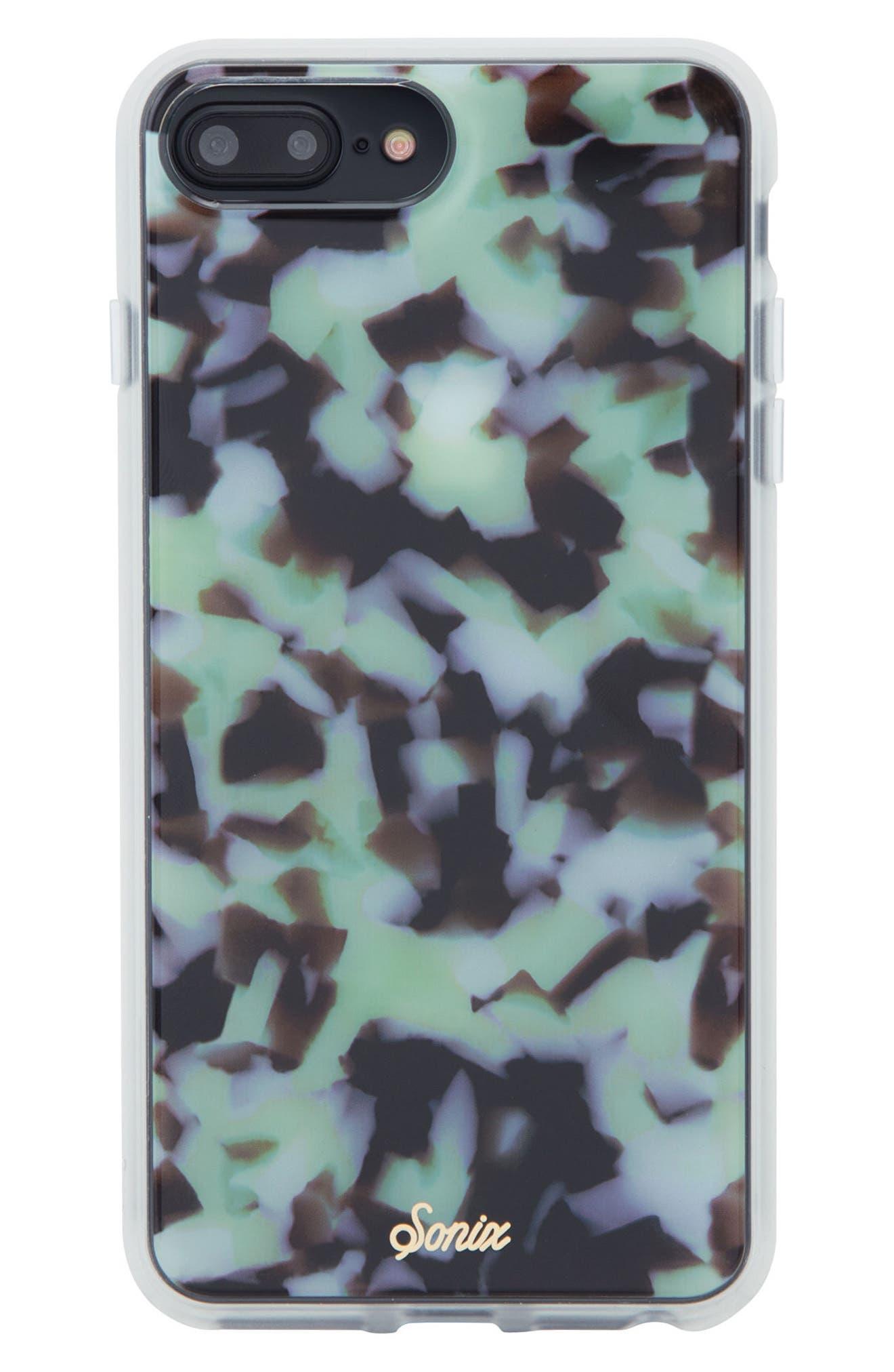 Terrazzo Mint iPhone 6/6s/7/8 & 6/6s/7/8 Plus Case,                             Main thumbnail 1, color,                             300