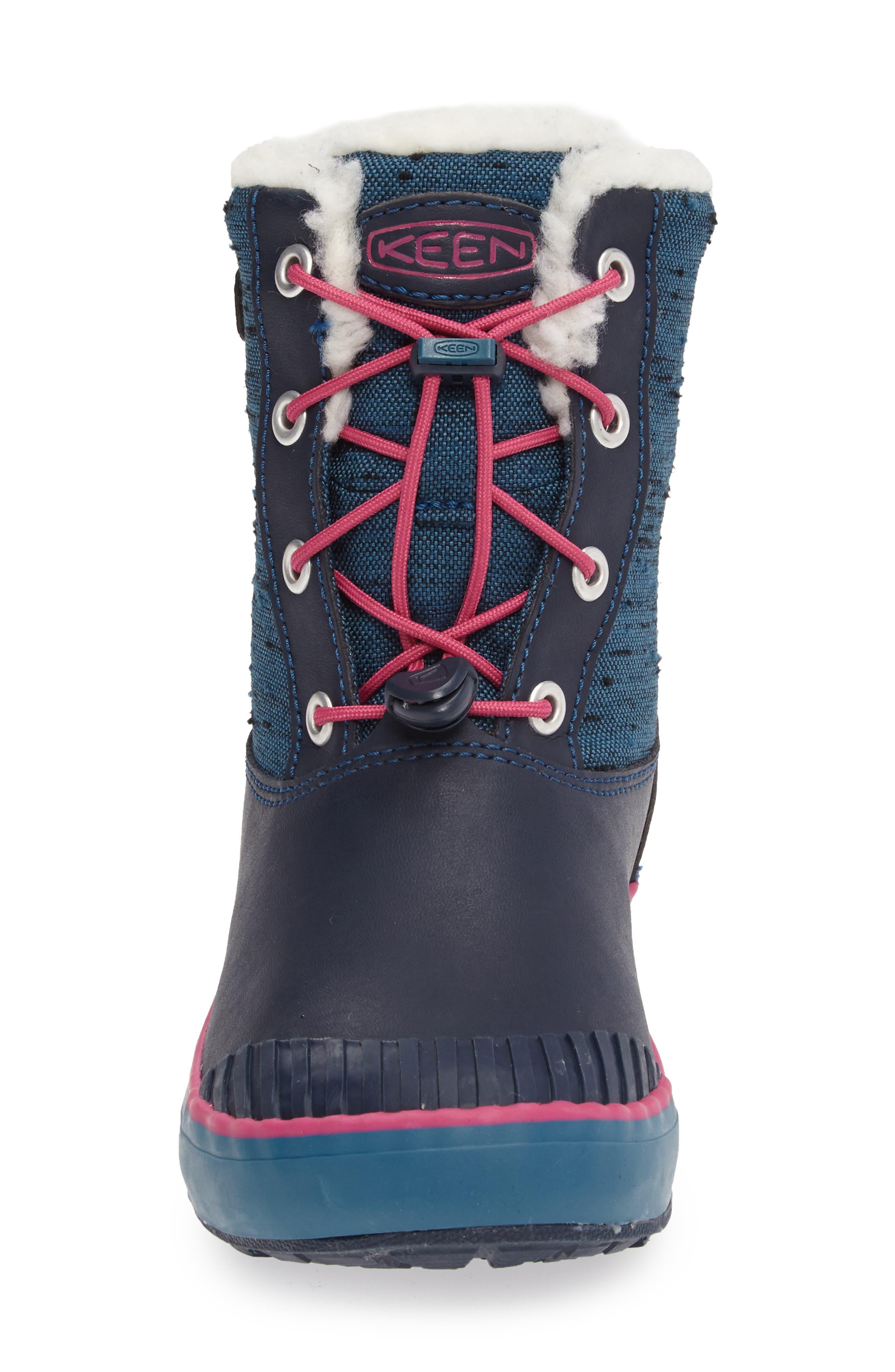Elsa Waterproof Faux Fur Lined Snow Boot,                             Alternate thumbnail 17, color,
