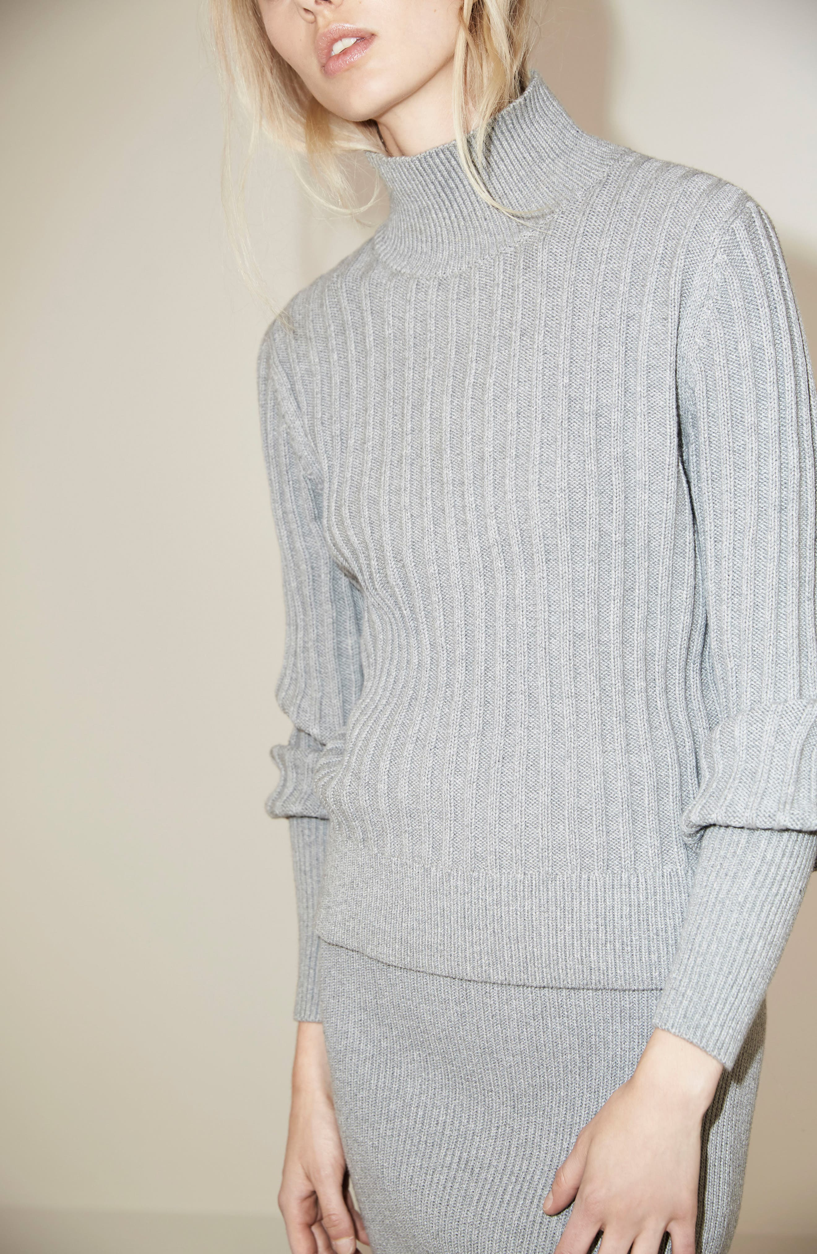 Galactic Puff Sleeve Sweater,                             Alternate thumbnail 7, color,                             051