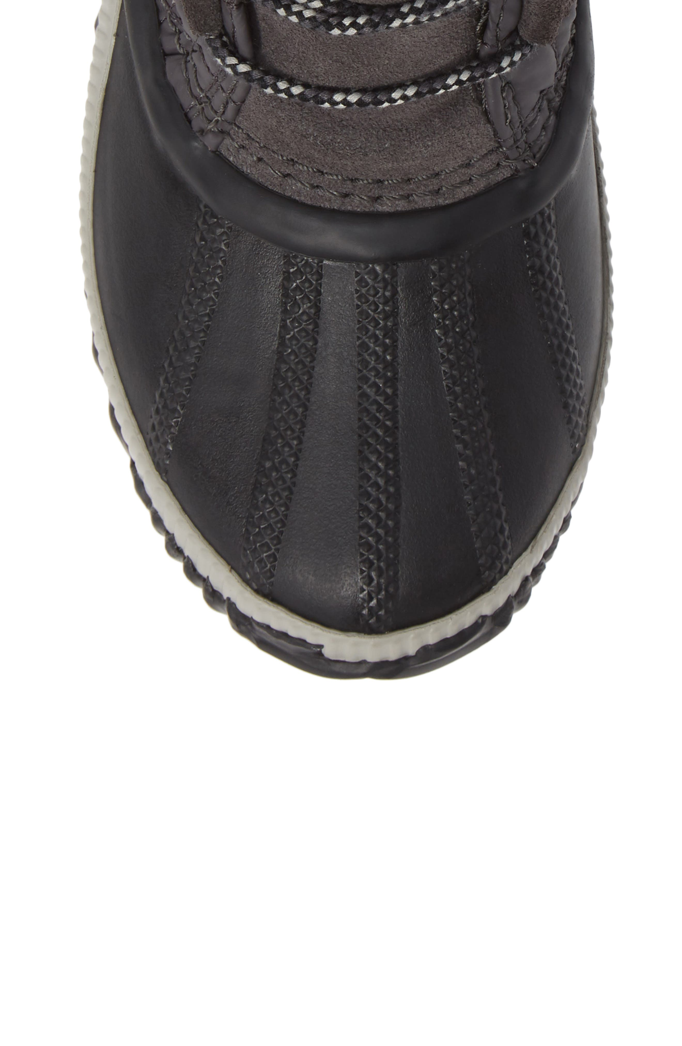Out N About Plus Camp Waterproof Bootie,                             Alternate thumbnail 5, color,                             SLATE GREY/ BLACK