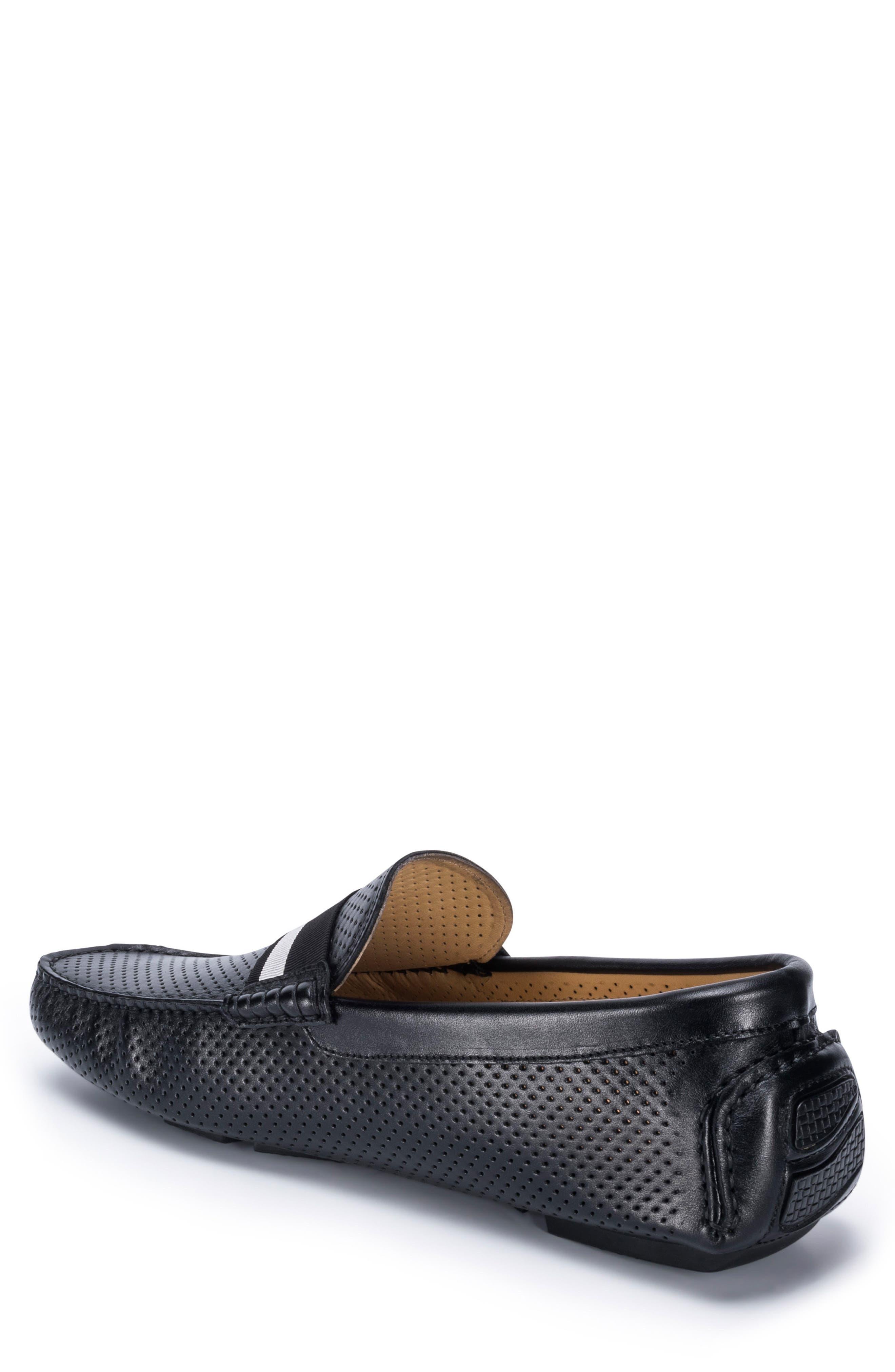 Sardegna Driving Shoe,                             Alternate thumbnail 2, color,                             BLACK