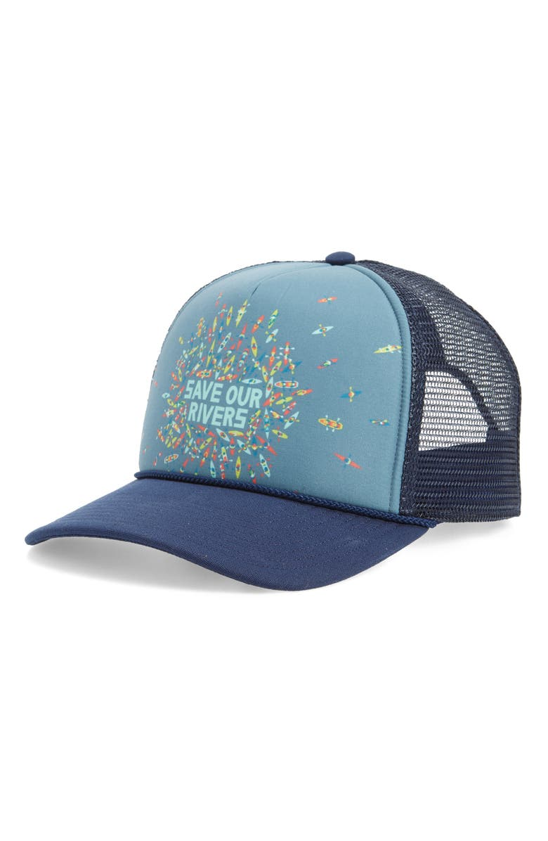 Patagonia Save Our Rivers Interstate Trucker Hat  b04c67f37a03