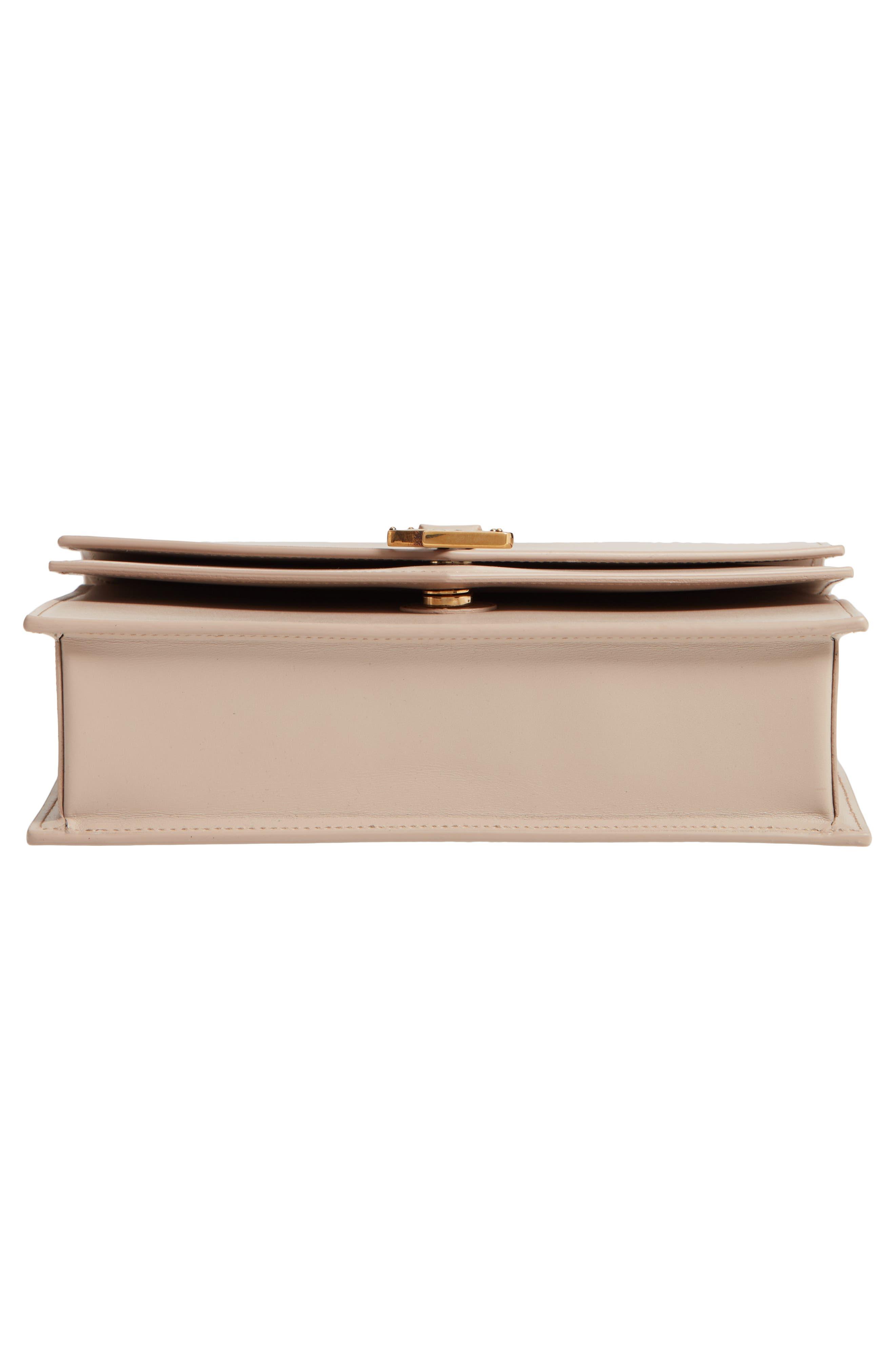 Sulpice Leather Shoulder Bag,                             Alternate thumbnail 6, color,                             LIGHT NATURAL