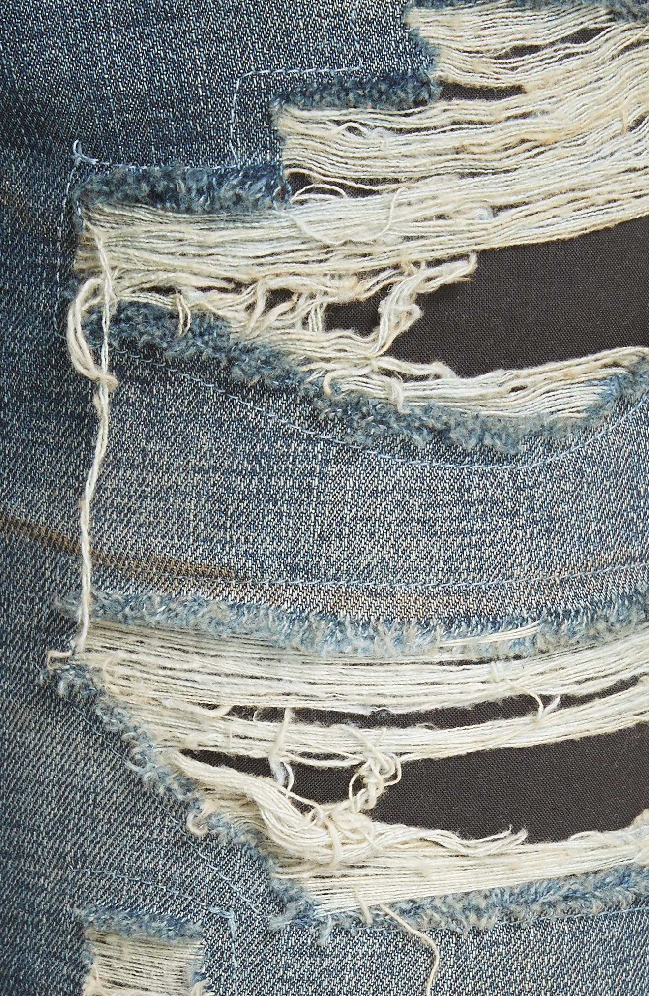 Destroyed Biker Jeans,                             Alternate thumbnail 5, color,                             420