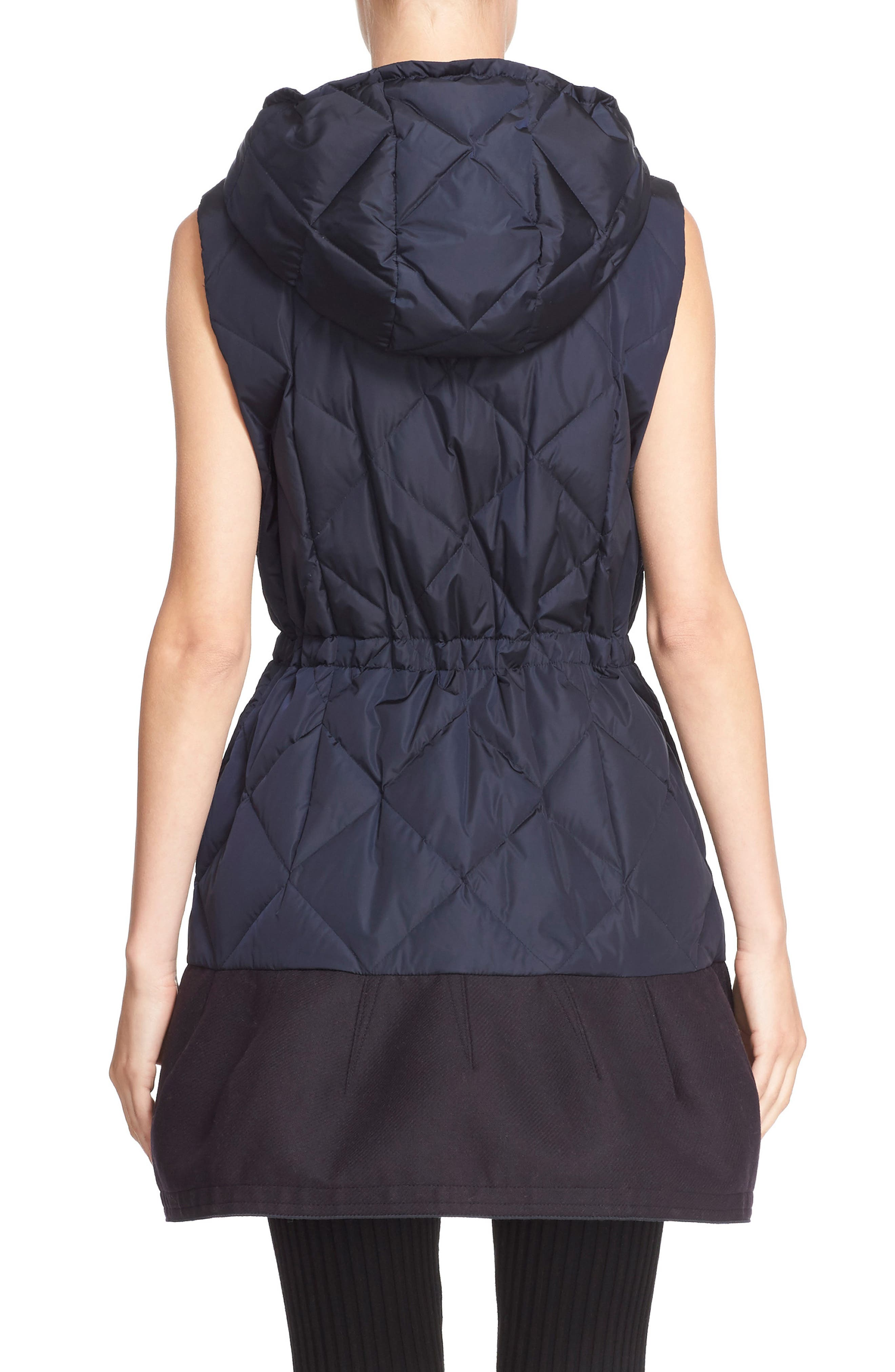 'Eles' Water Resistant Quilted Hooded Down Vest,                             Alternate thumbnail 2, color,                             419
