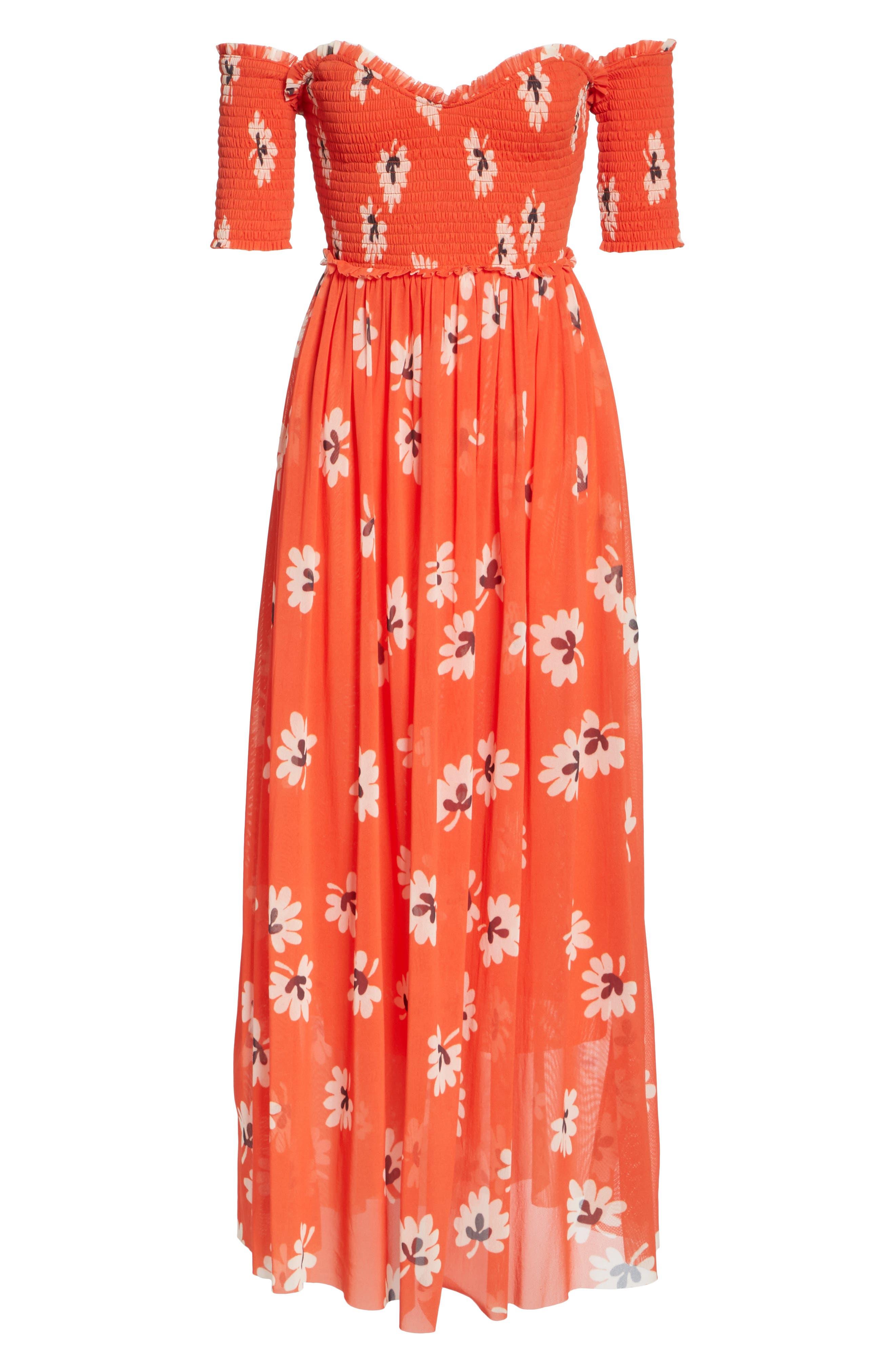 Tilden Mesh Dress,                             Alternate thumbnail 6, color,                             600