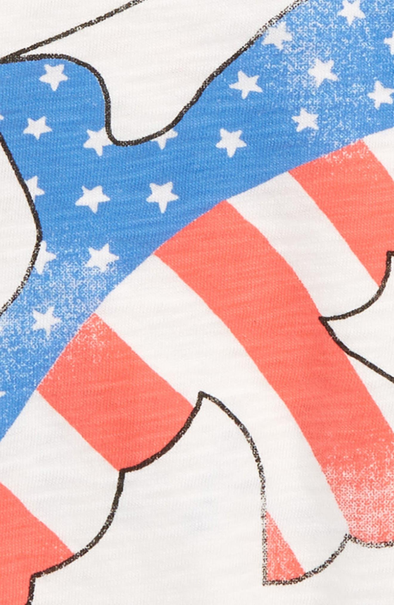 Peace Dove Tee,                             Alternate thumbnail 3, color,                             100