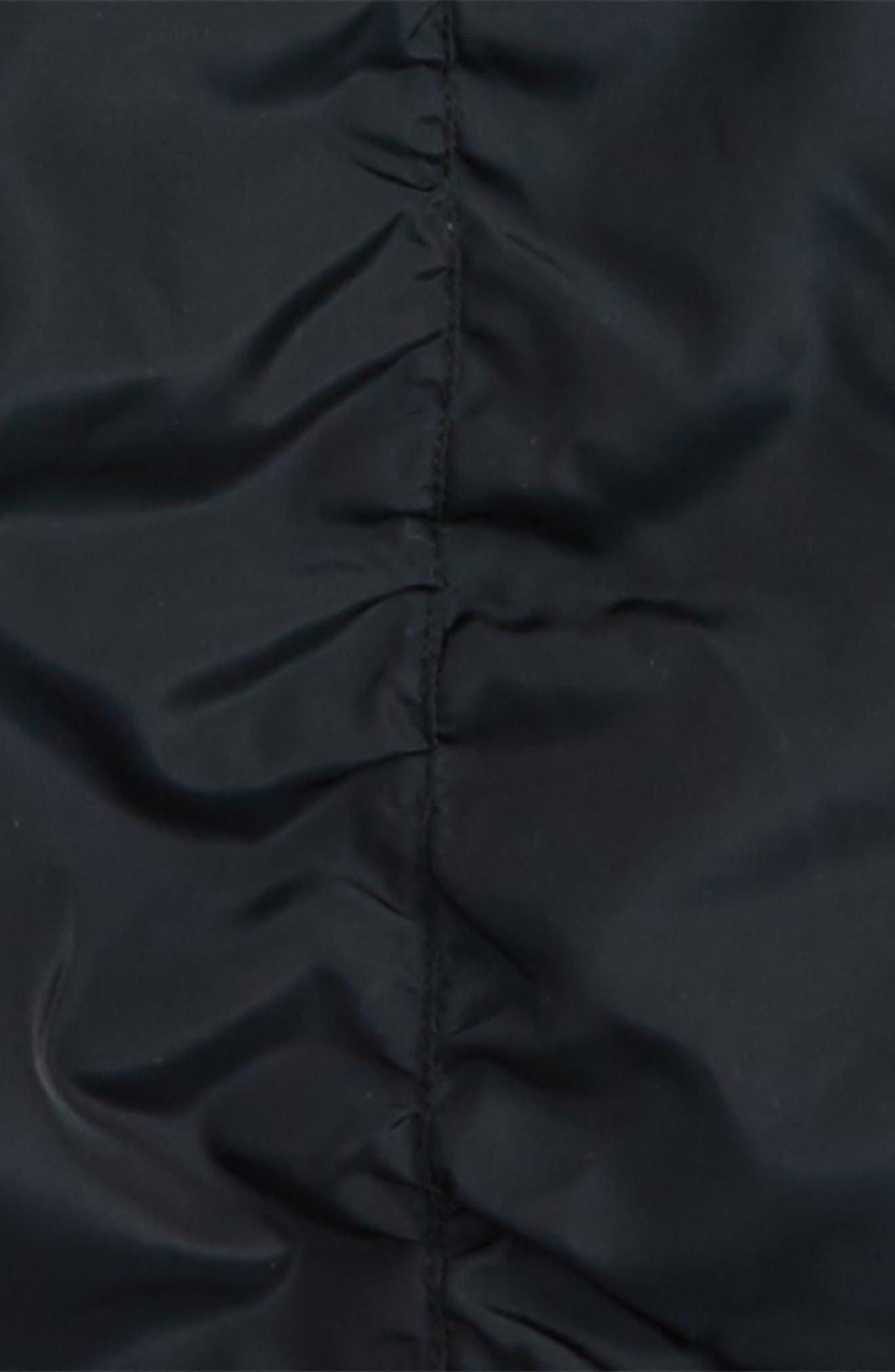 Hooded Bomber Jacket,                             Alternate thumbnail 3, color,                             001