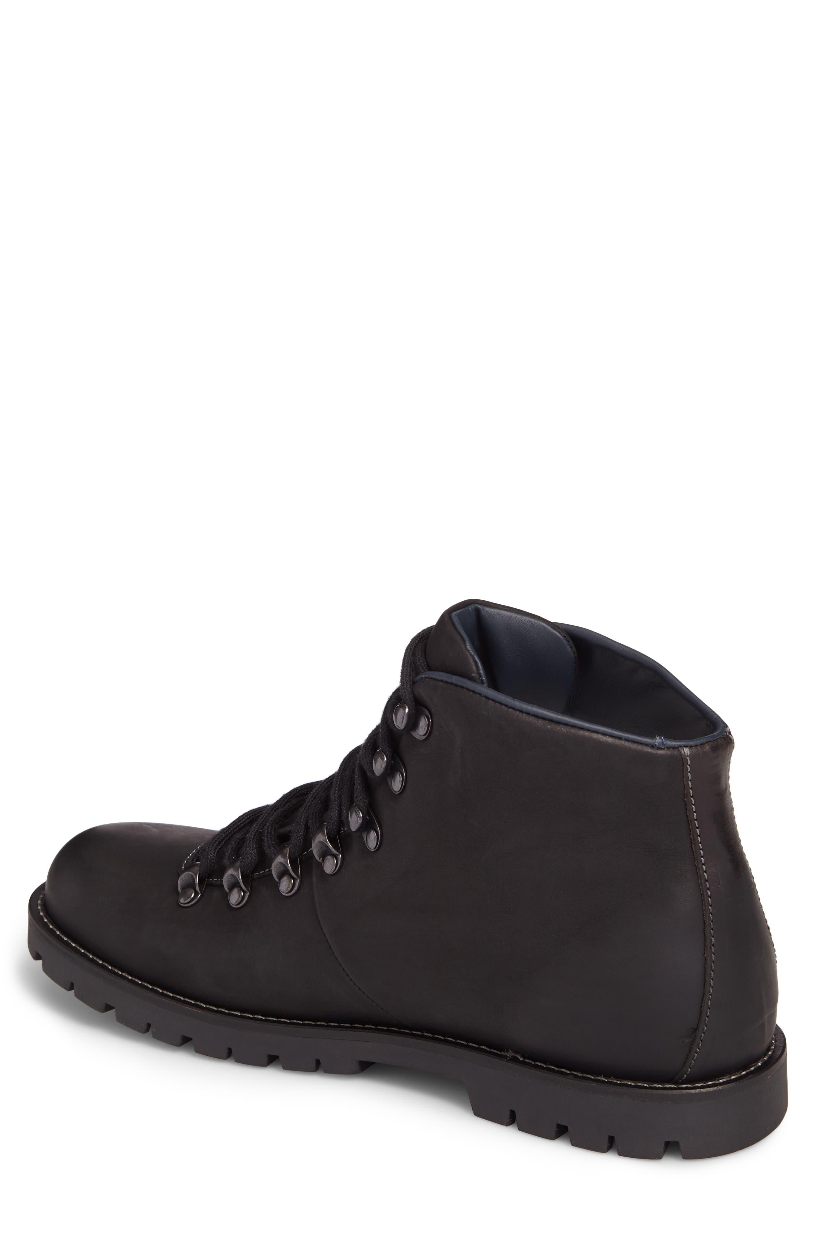 Hancock Plain Toe Boot,                             Alternate thumbnail 2, color,                             BLACK