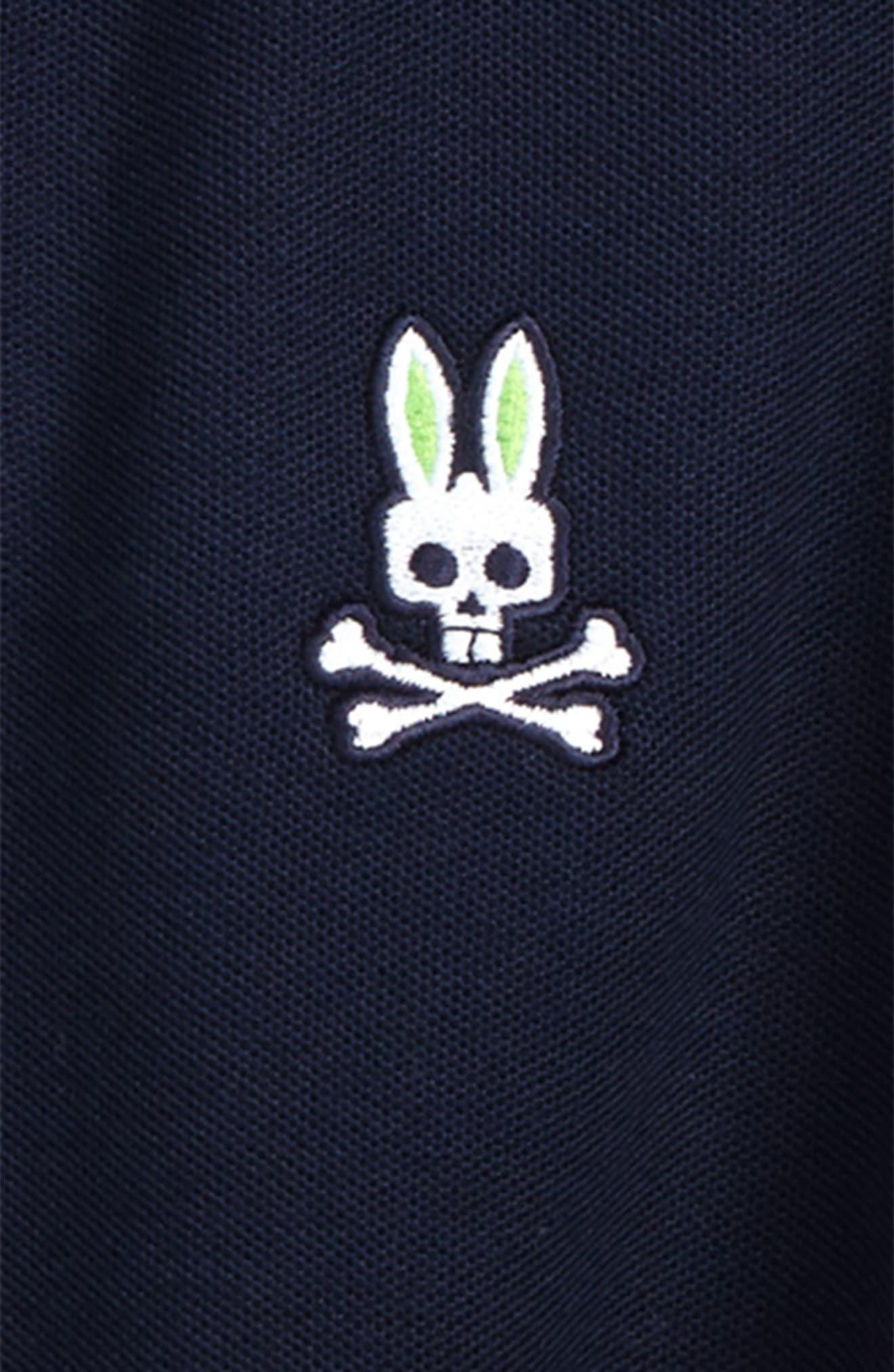 Neon Bunny Cotton Polo,                             Alternate thumbnail 7, color,