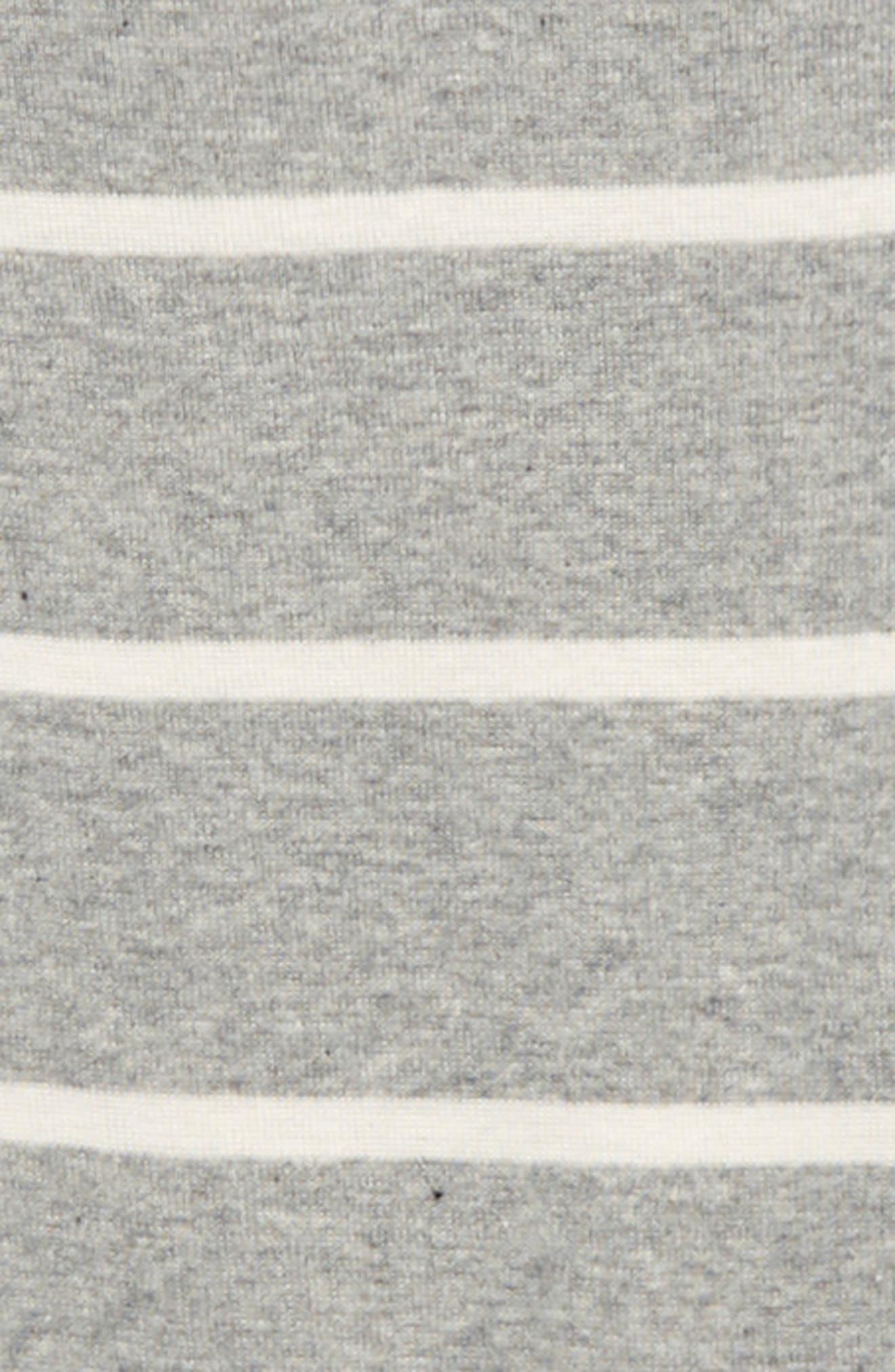 Striped Footie & Hat Set,                             Alternate thumbnail 2, color,
