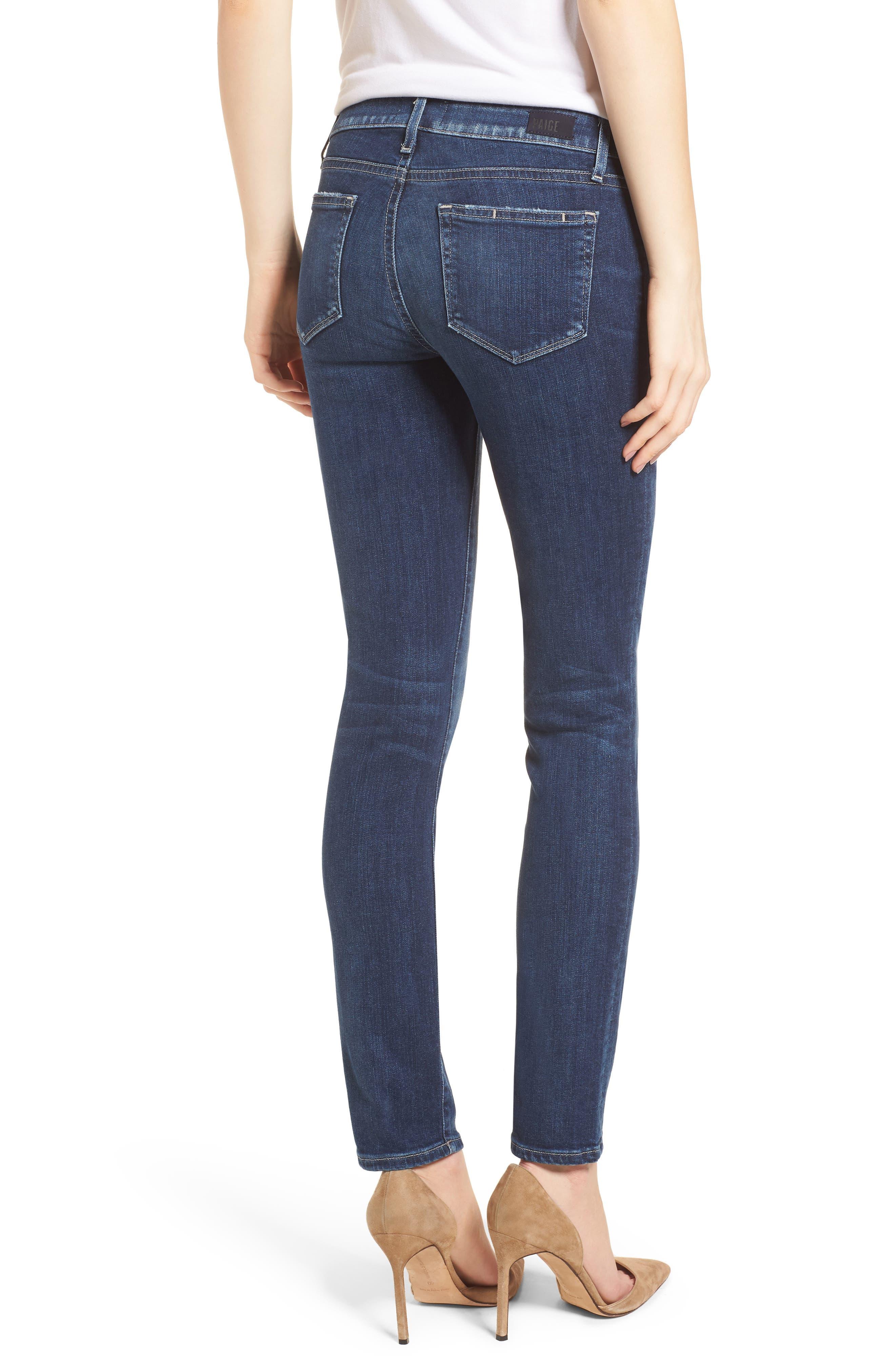 Transcend Vintage - Skyline Skinny Jeans,                             Alternate thumbnail 2, color,                             400