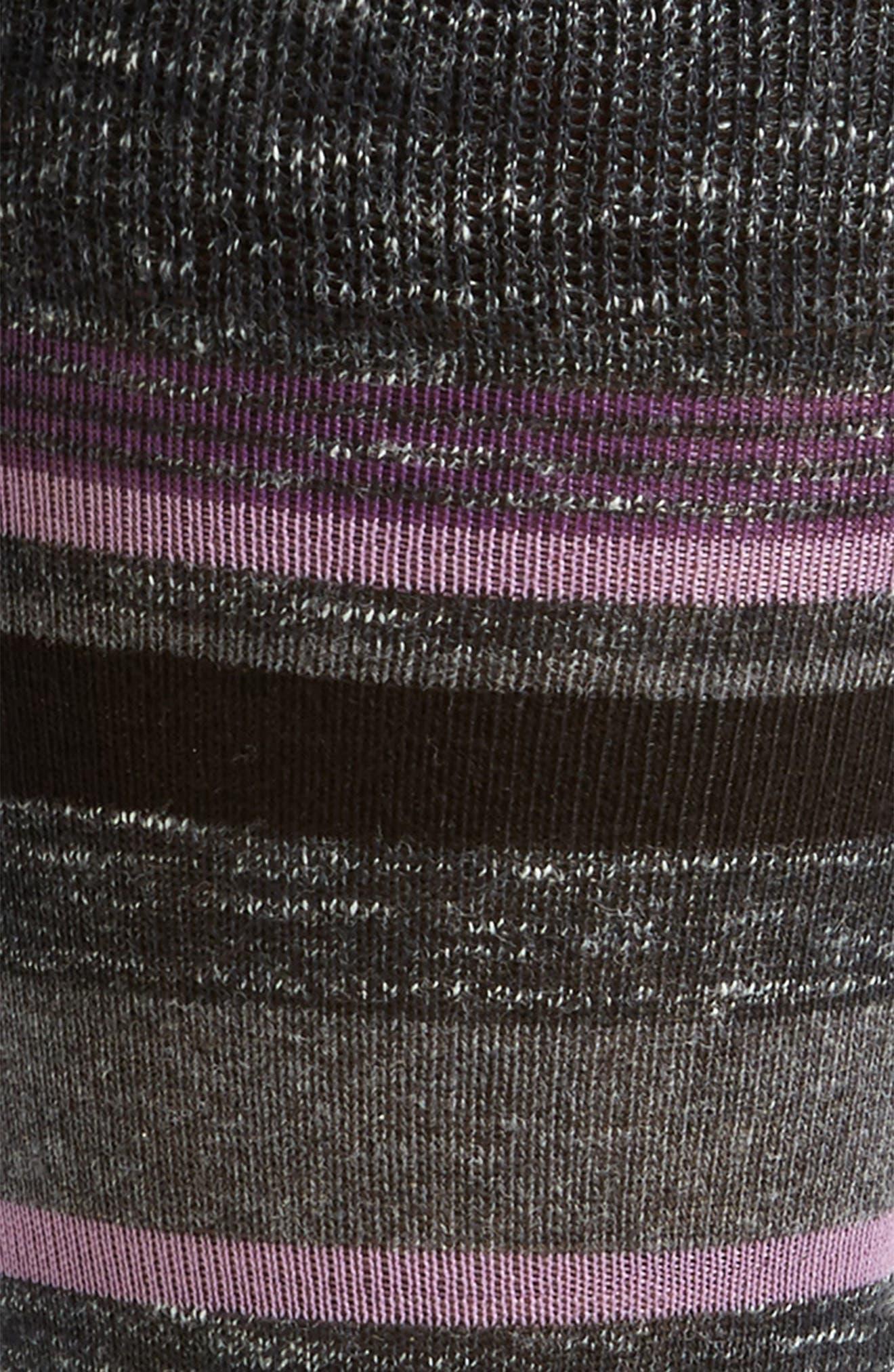 Stripe Socks,                             Alternate thumbnail 2, color,                             007
