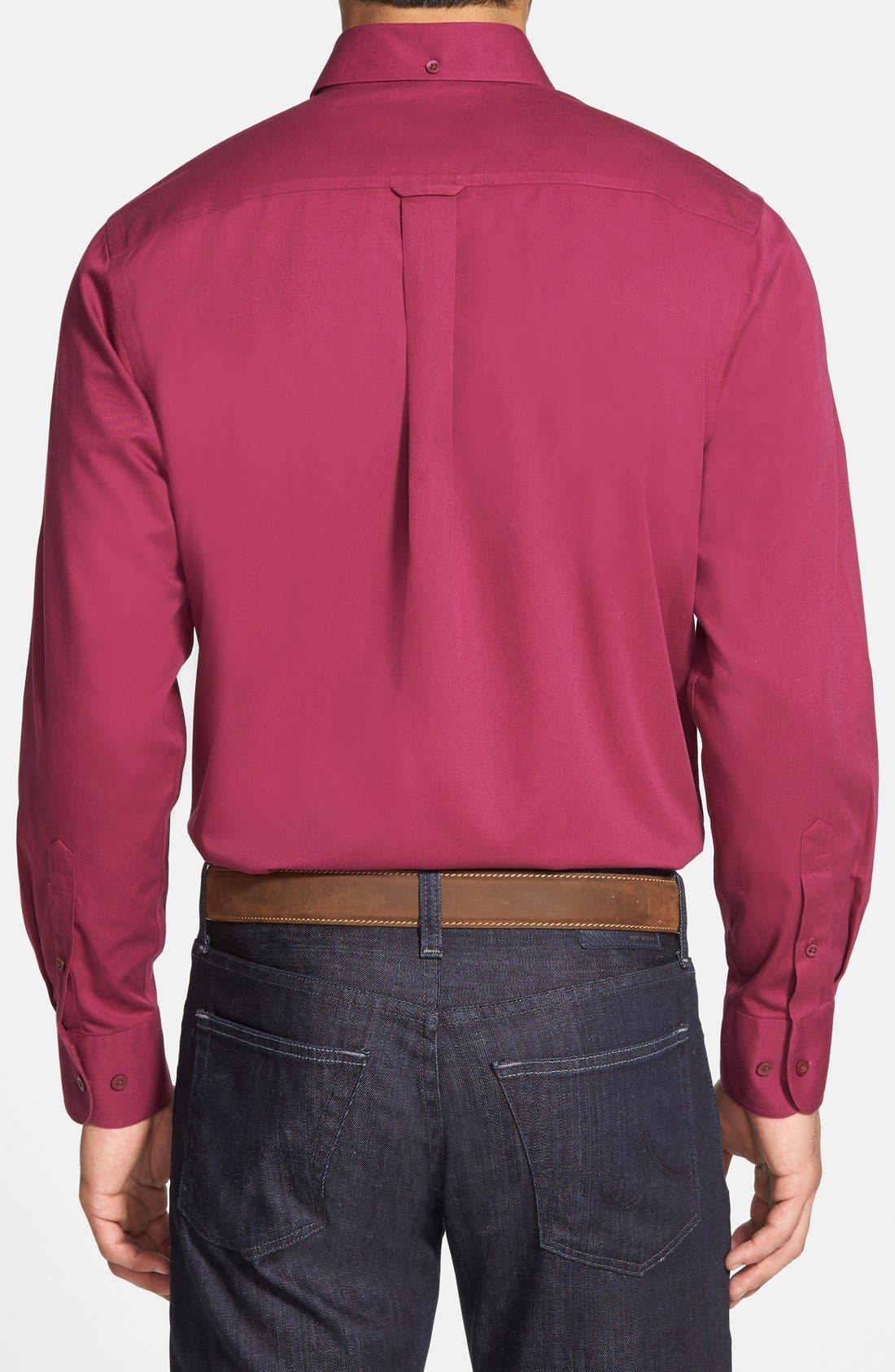 Smartcare<sup>™</sup> Traditional Fit Twill Boat Shirt,                             Alternate thumbnail 67, color,